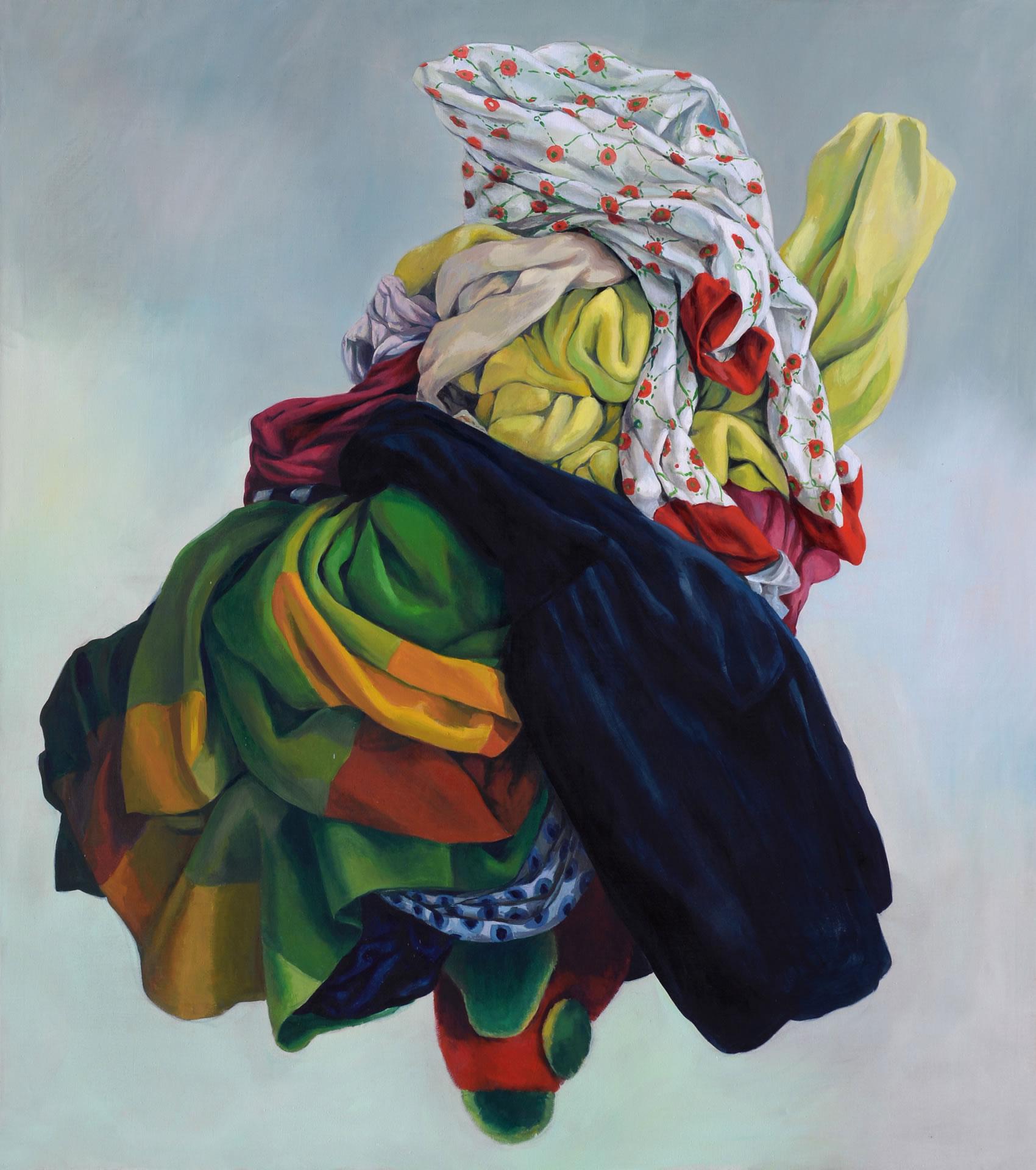 Alina Kunitsyna | Bär von Schallerbach | 180 x 160 cm | 2017 | Foto Kunitsyna Galerie3