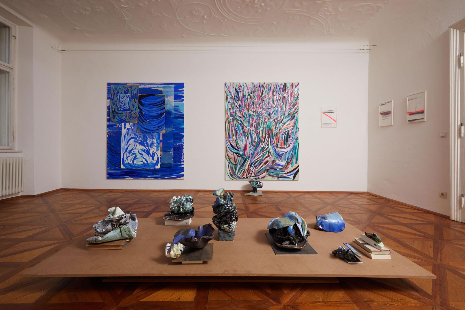 Veronika Dirnhofer | Raum 1 | Galerie3 | Foto Johannes Puch