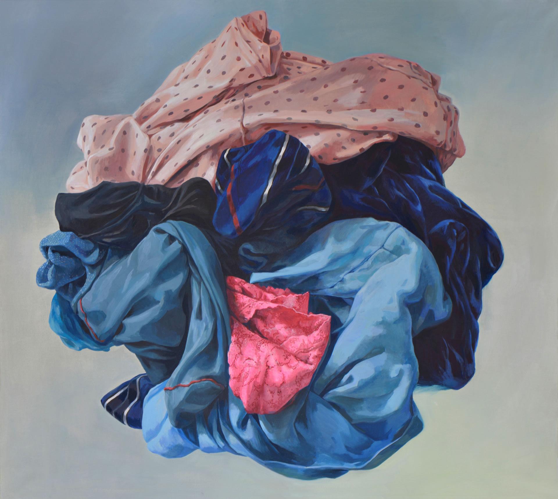 Alina Kunitsyna | Maure aus Reutte | 2018 | Öl auf Leinwand | 160 x 180 cm