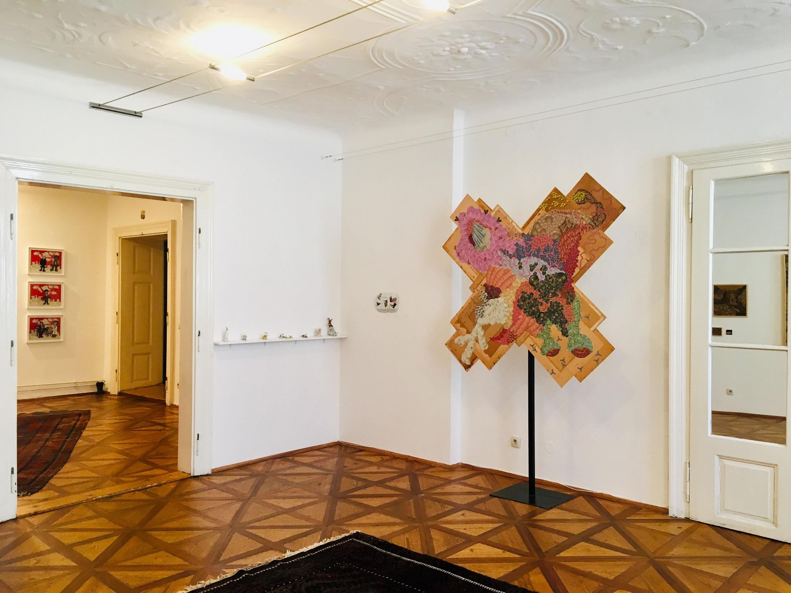 Ernst Miesgang | Rohullah Kazimi | unheimlich heimelig | Galerie3