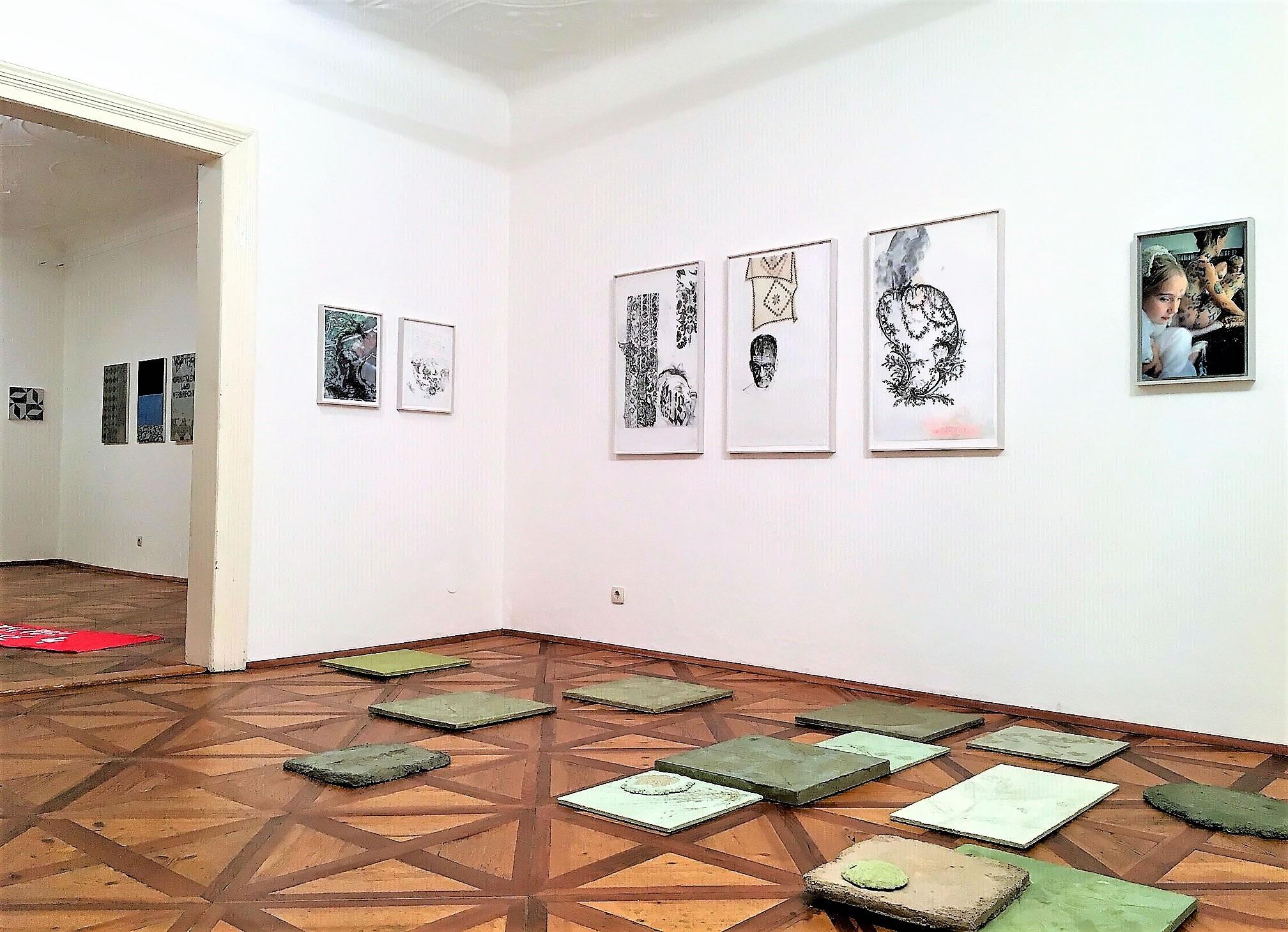 Iris Adraschek | Hubert Lobnig | Raum 2 Raum 1