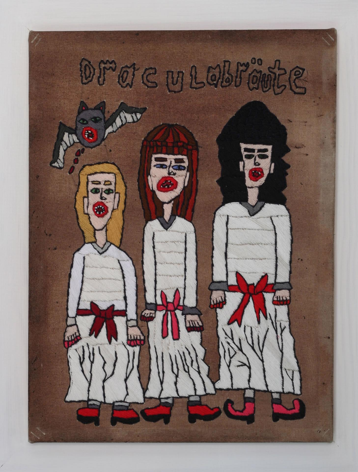 Rohullah Kazimi | Stick Dracula auf Schweineblut 2 | unheimlich heimelig | Galerie3