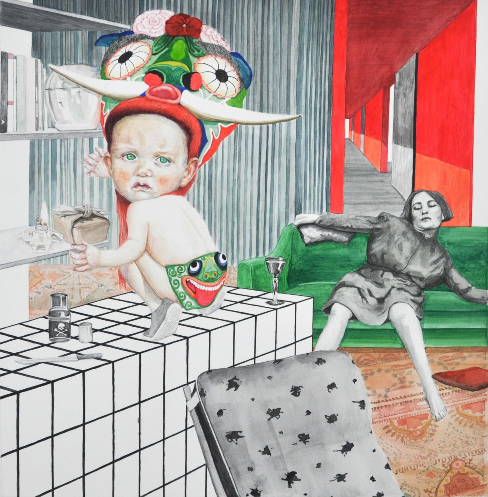 Annemarie Arzberger | 2016 | every baby has a fantasy | unheimlich heimelig Galerie3
