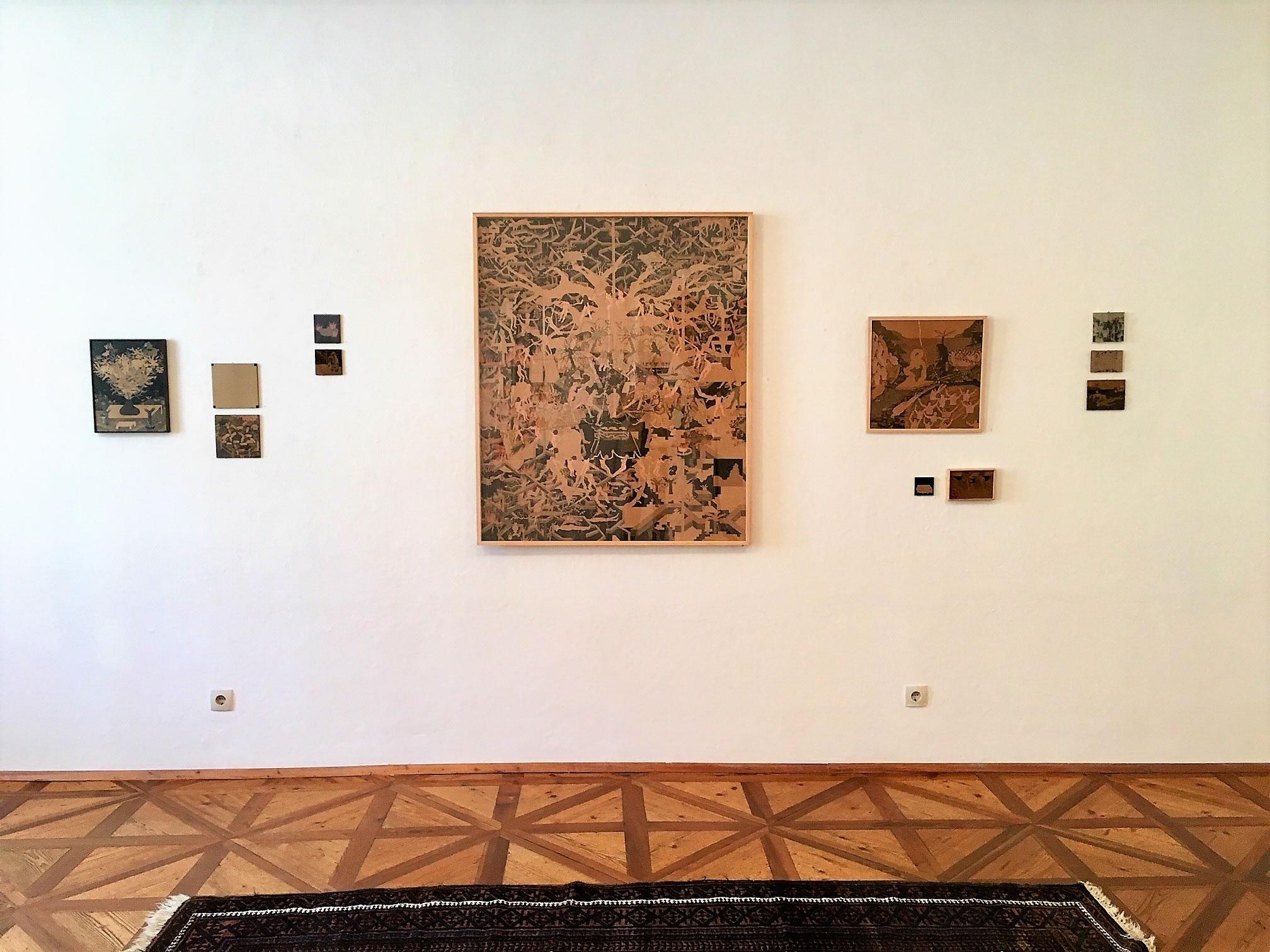 Georg Pinteritsch | Hängung | unheimlich heimelig | Galerie3