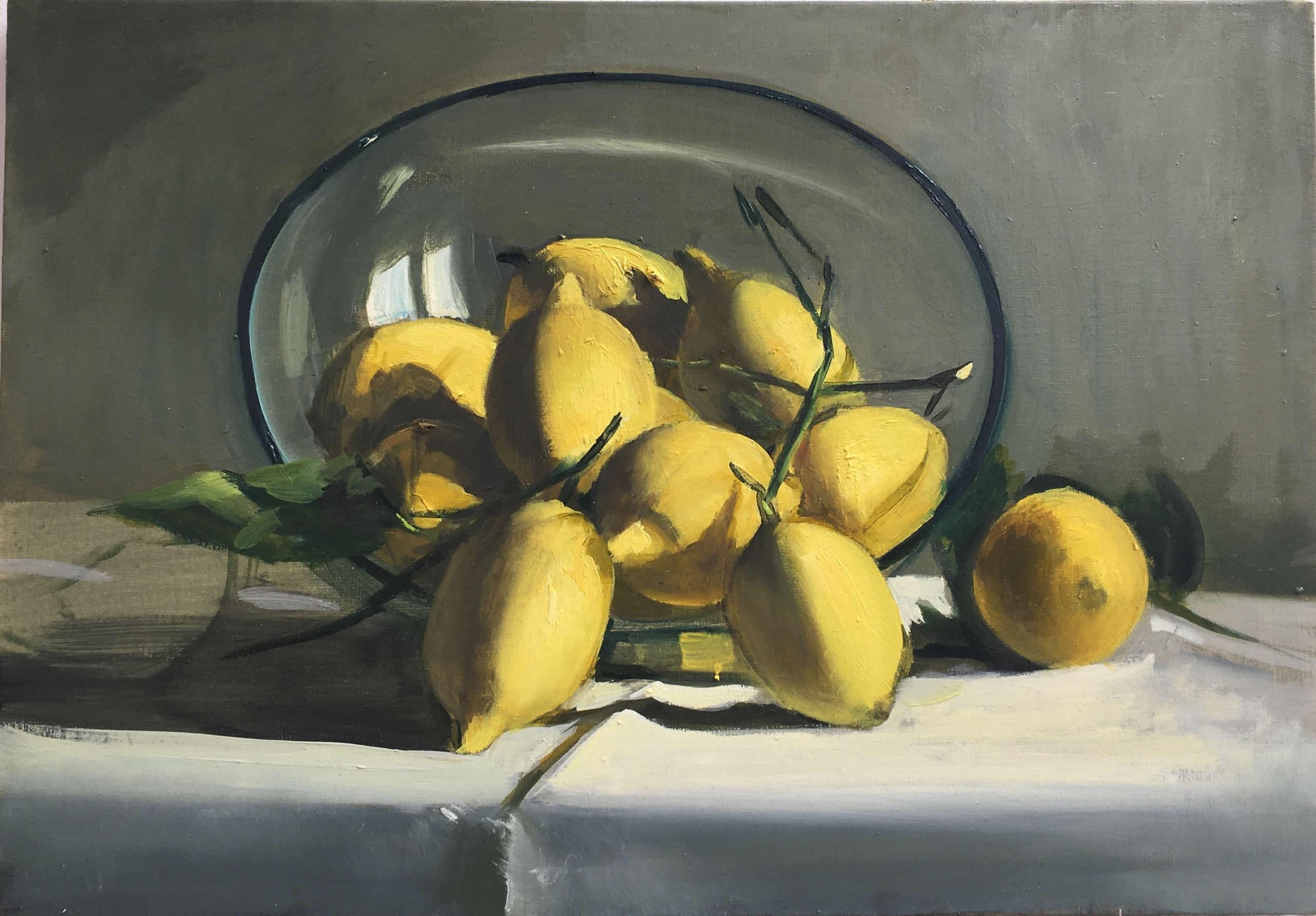 Alex Amann | 2020 | Öl auf Leinwand | 39x58cm | plaisirs simples | Galerie3