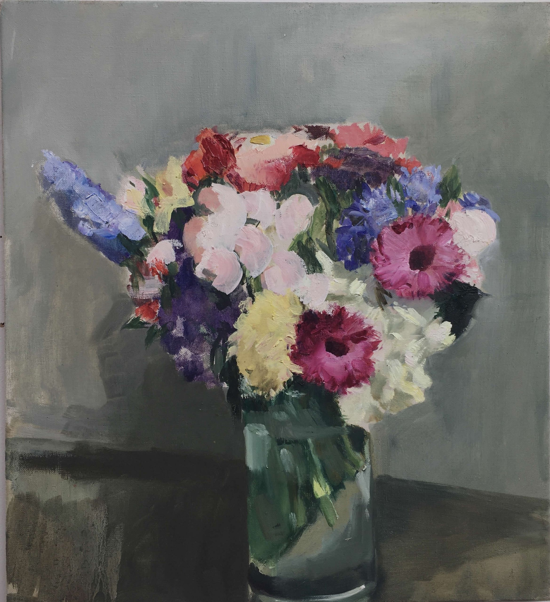 Alex Amann | 2020 | Öl auf Leinwand | 60x55cm | plaisirs simples | Galerie3