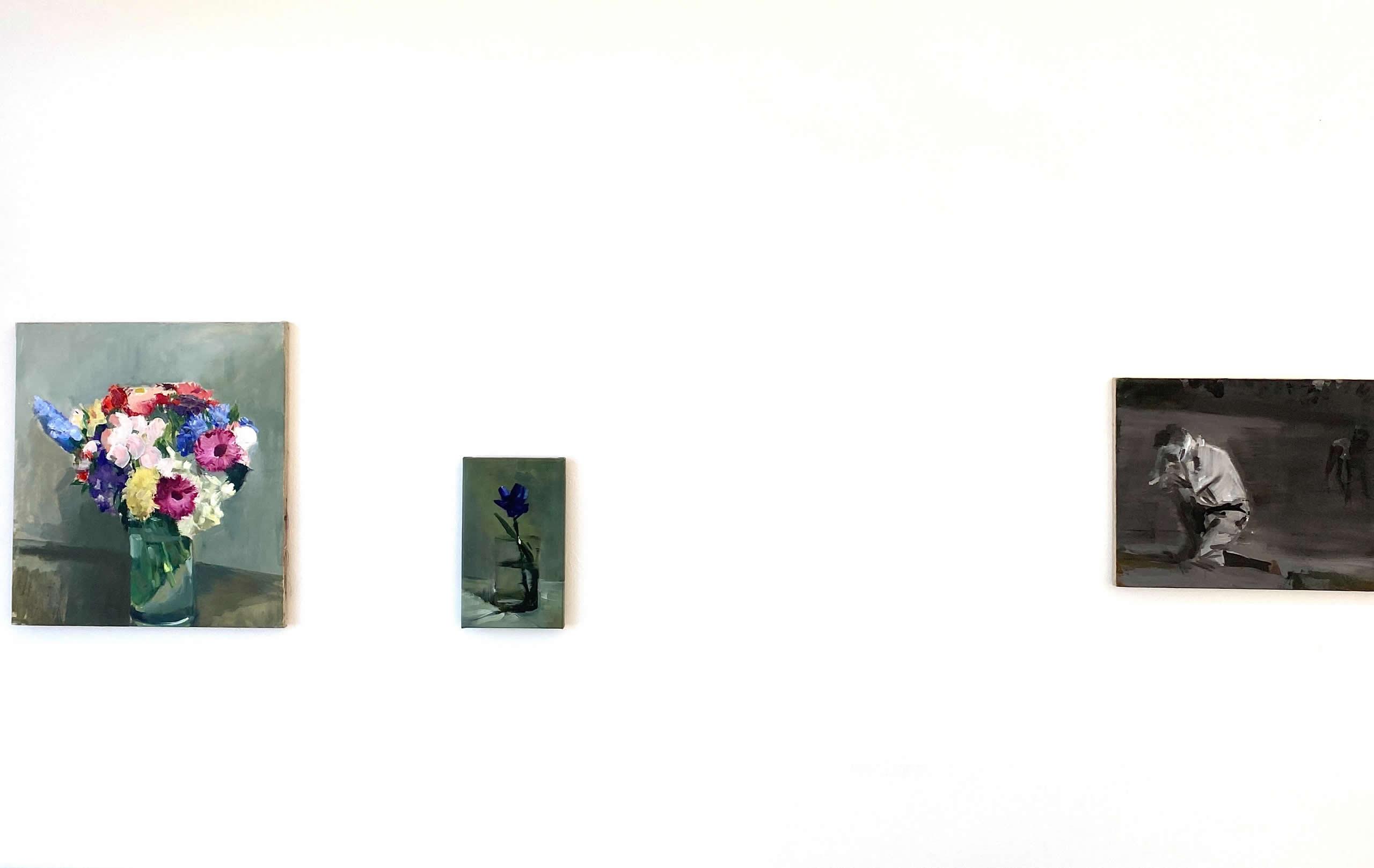 Alex Amann | Ausstellungsansicht | plaisirs simples | Galerie3