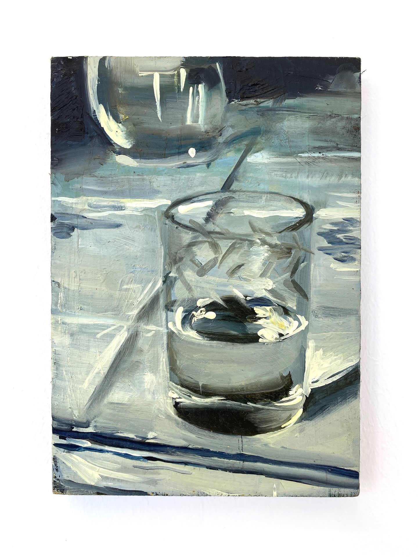 Alex Amann | O.T. | 2017 | Öl auf Leinwand | 27x19cm | plaisirs simples | Galerie3