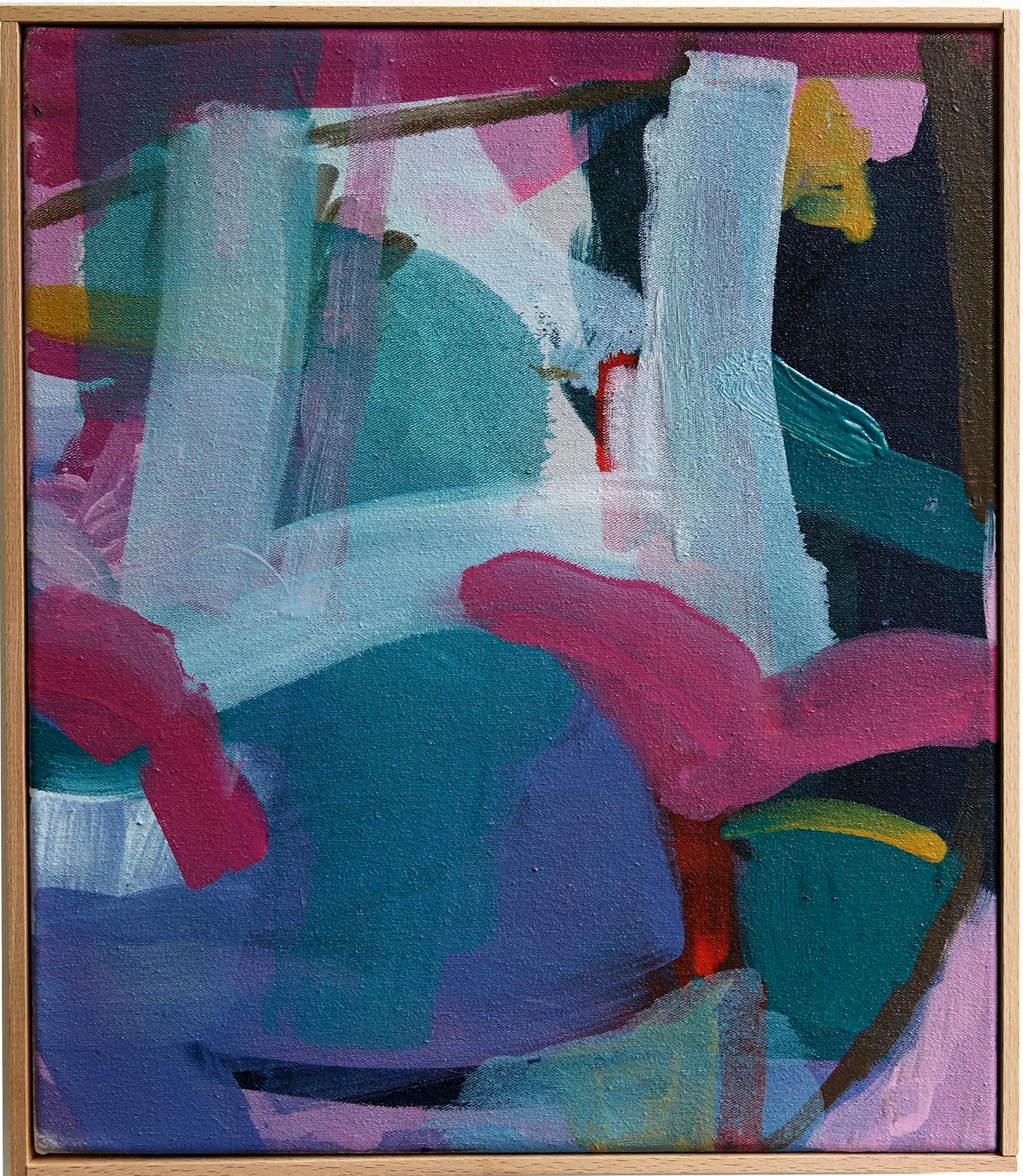 Violetta Ehnsperg | Der Wahnsinn ist ein Kuchen | 36,5 x 31,5 cm | Galerie3