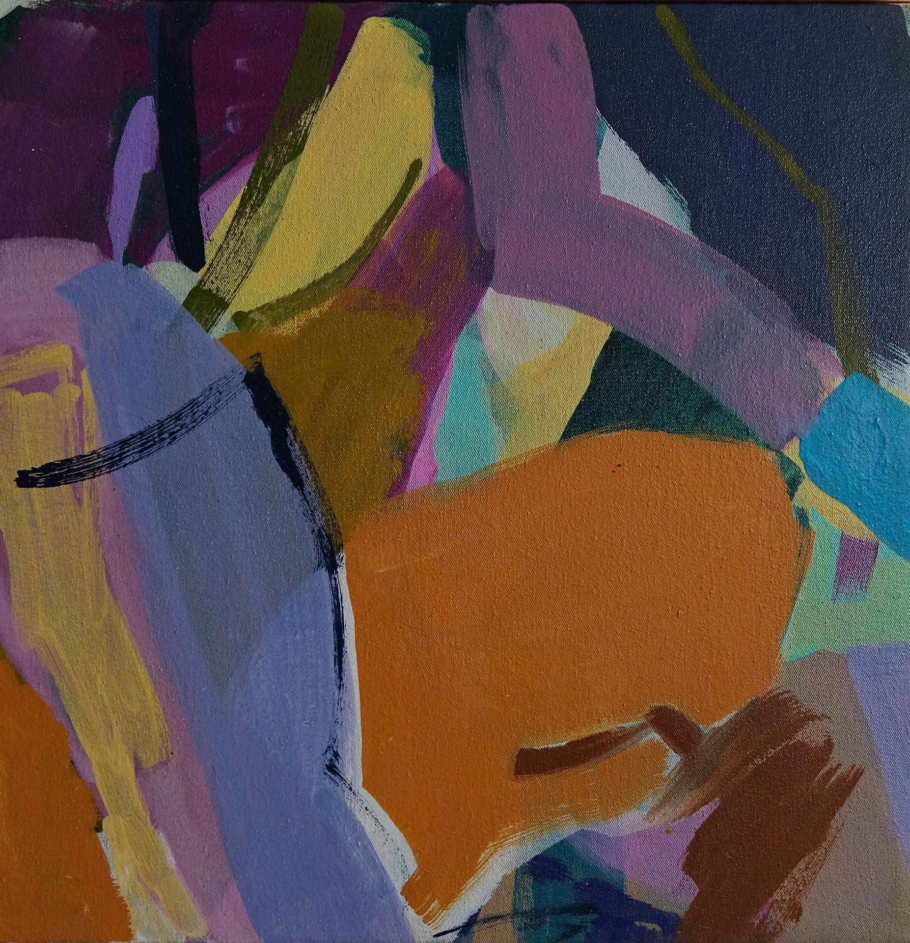 Violetta Ehnsperg | Sunset Boulevard | 41 x 41 cm | Galerie3