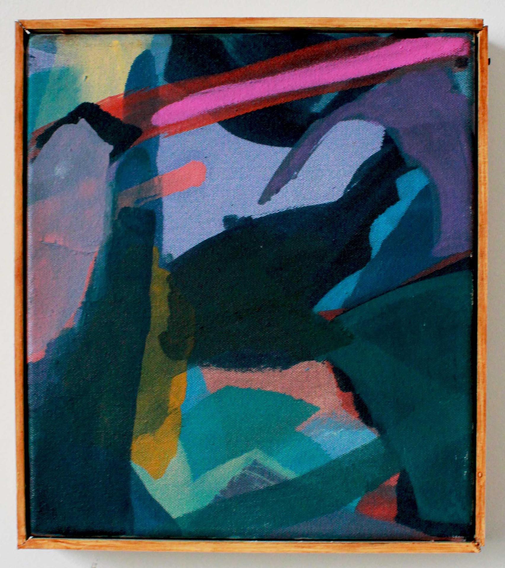 Violetta Ehnsperg | Formation | 2019 | Öl auf Leinwand | Galerie3