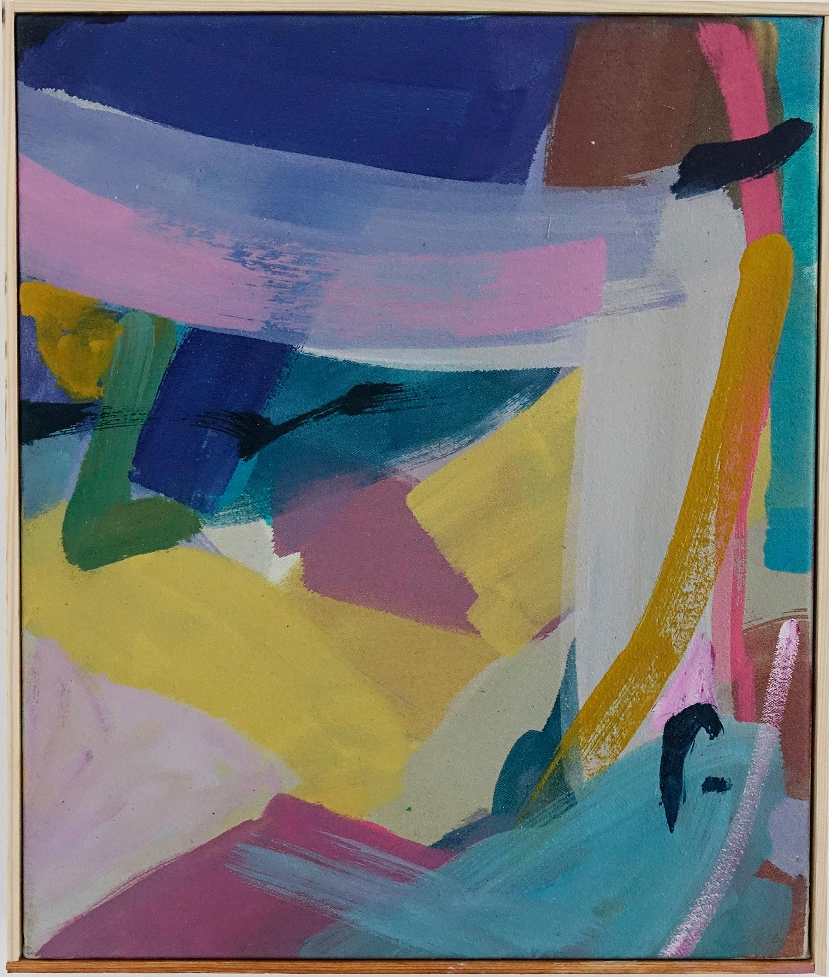 Violetta Ehnsperg | Immer fröhlich weiter | 37 x 31,2 cm | Galerie3