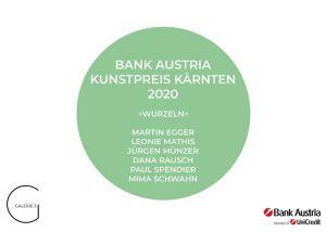 Bank Austria Kunstpreis Kärnten 2020