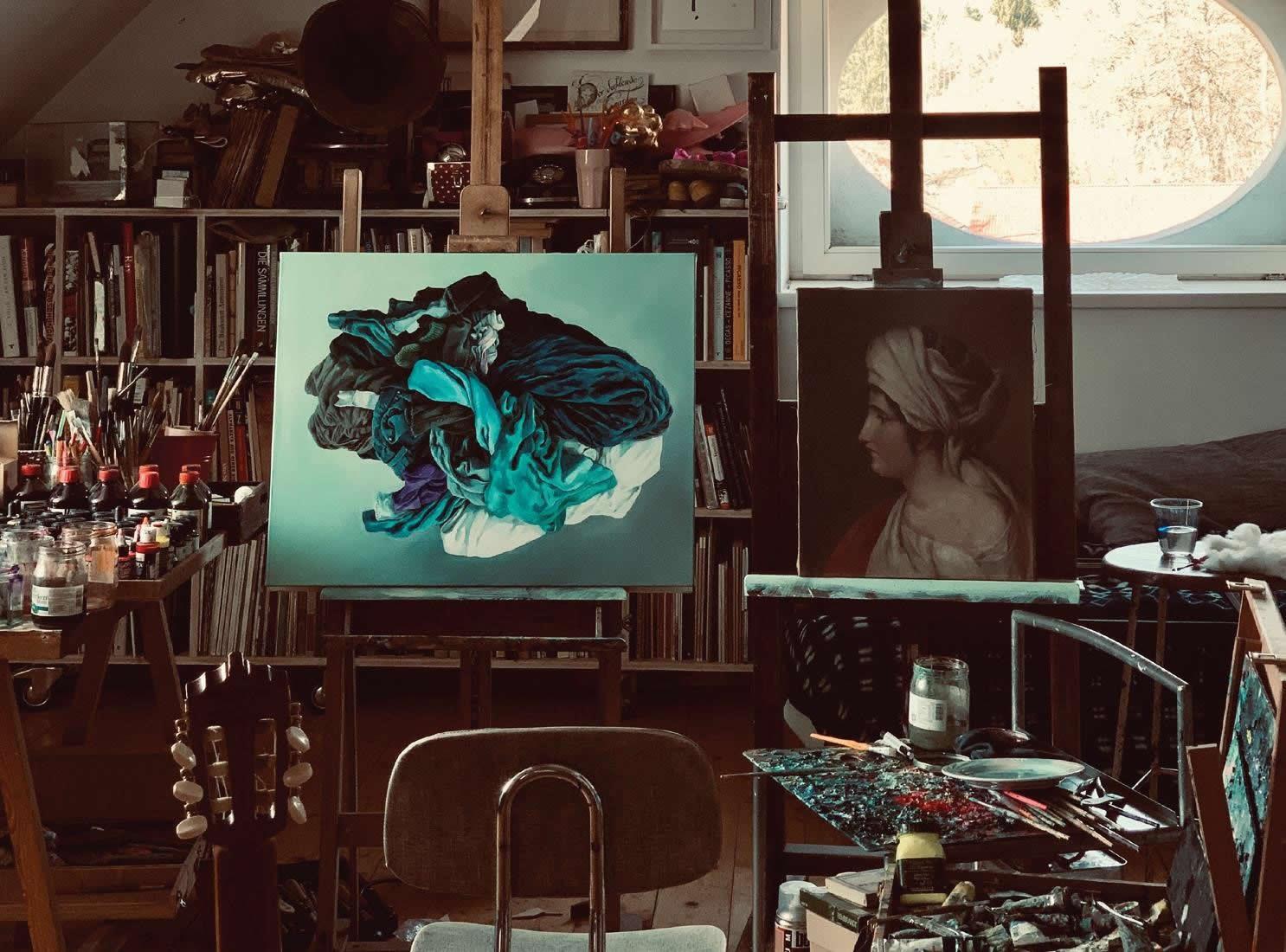 Alina Kunitsyna | Atelier | Naked Nature | Galerie 3 Velden