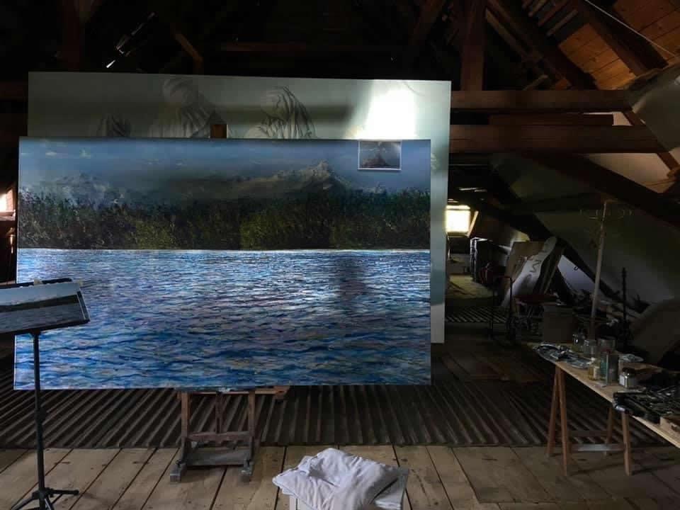 Markus Orsini-Rosenberg | Ateleier | Naked Nature | Galerie 3 Velden
