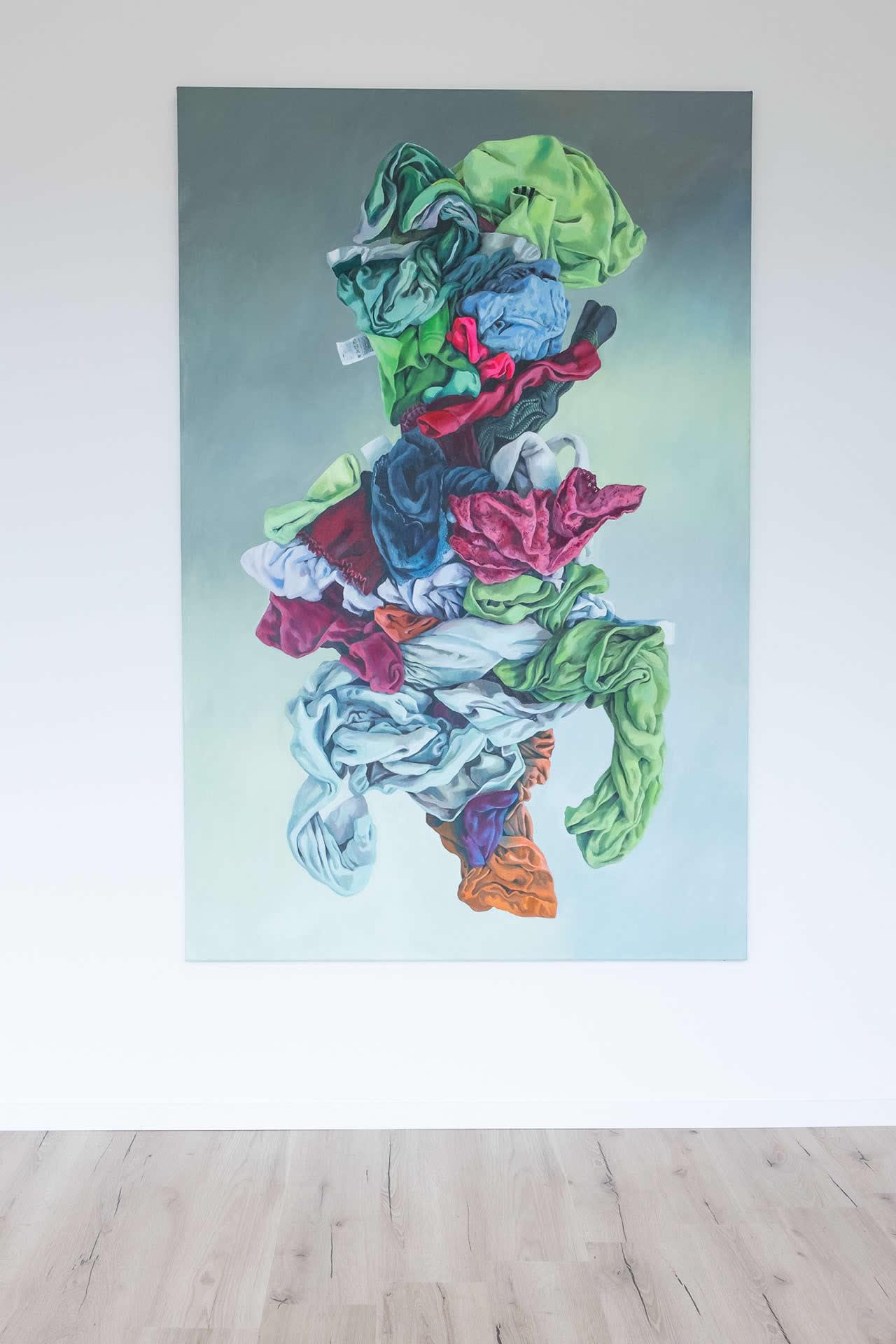 Alina Kunitsyna | Hormonvogel | Naked Nature | Galerie 3 Velden | Foto Manu Lasnik