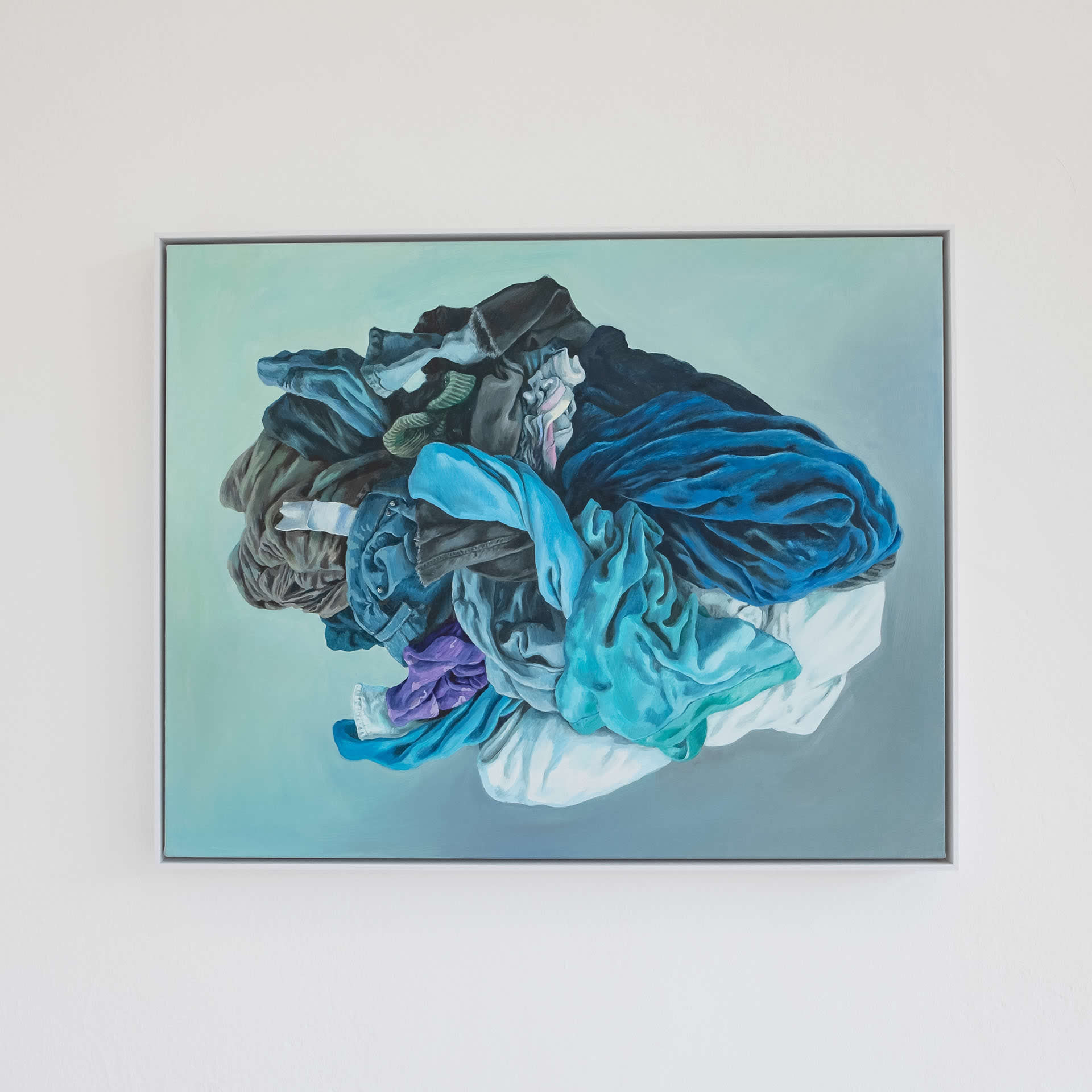 Alina Kunitsyna | Goethe und Schiller | 2020 | Naked Nature | Galerie 3 Velden | Foto Manu Lasnik
