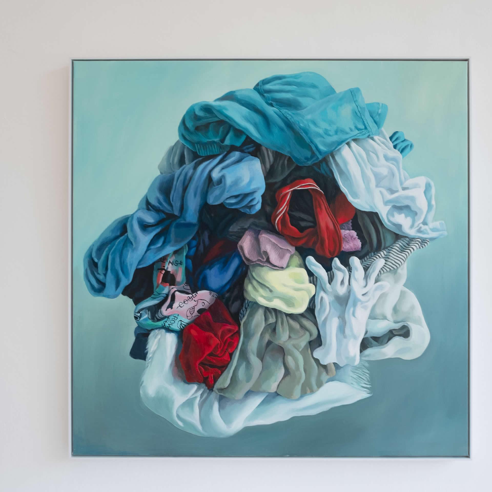 Alina Kunitsyna | Hommage an Kiki | 2020 | Naked Nature | Galerie 3 Velden | Foto Manu Lasnik