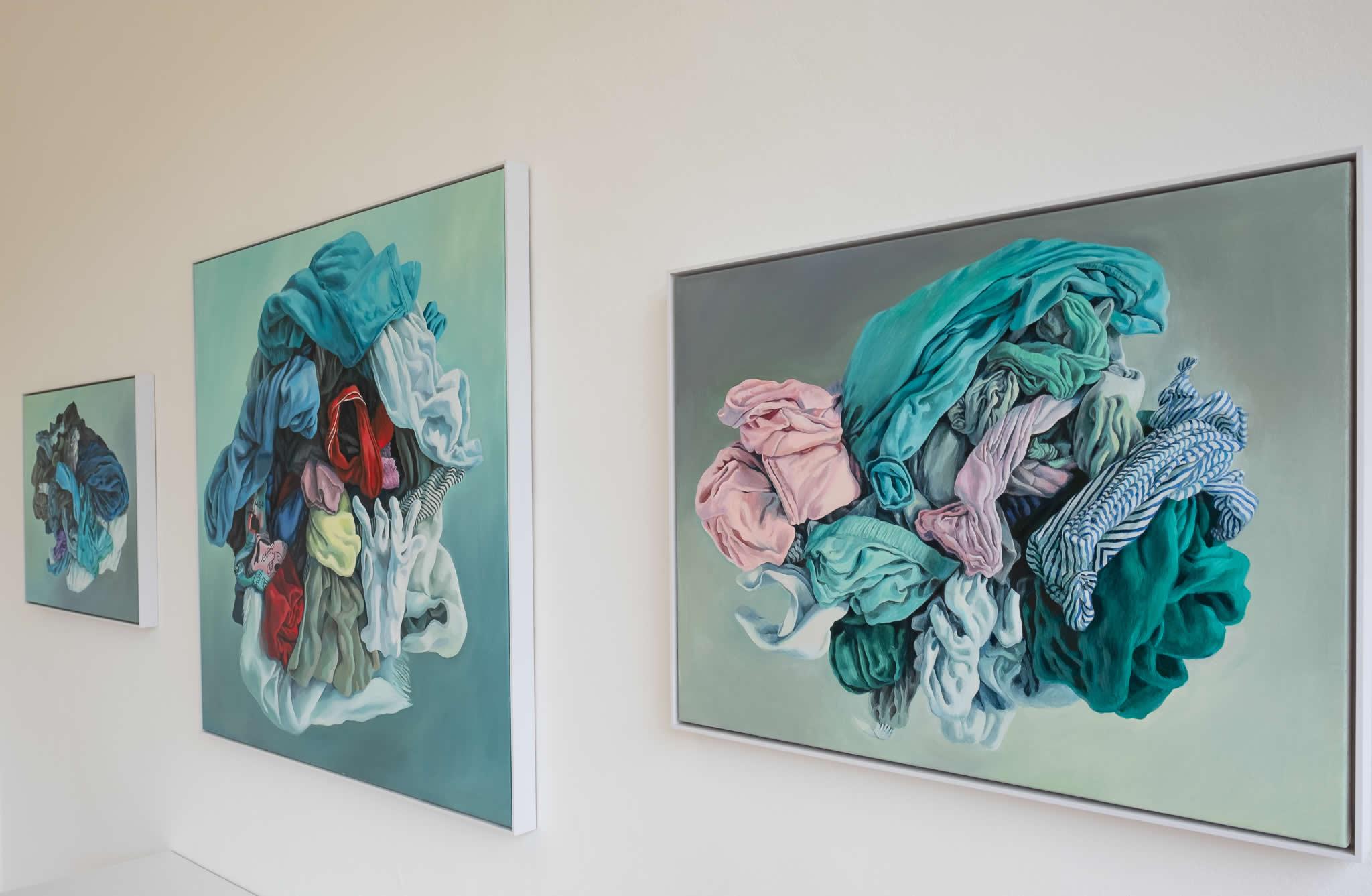 Alina Kunitsyna | Naked Nature | Galerie 3 Velden | Foto Manu Lasnik