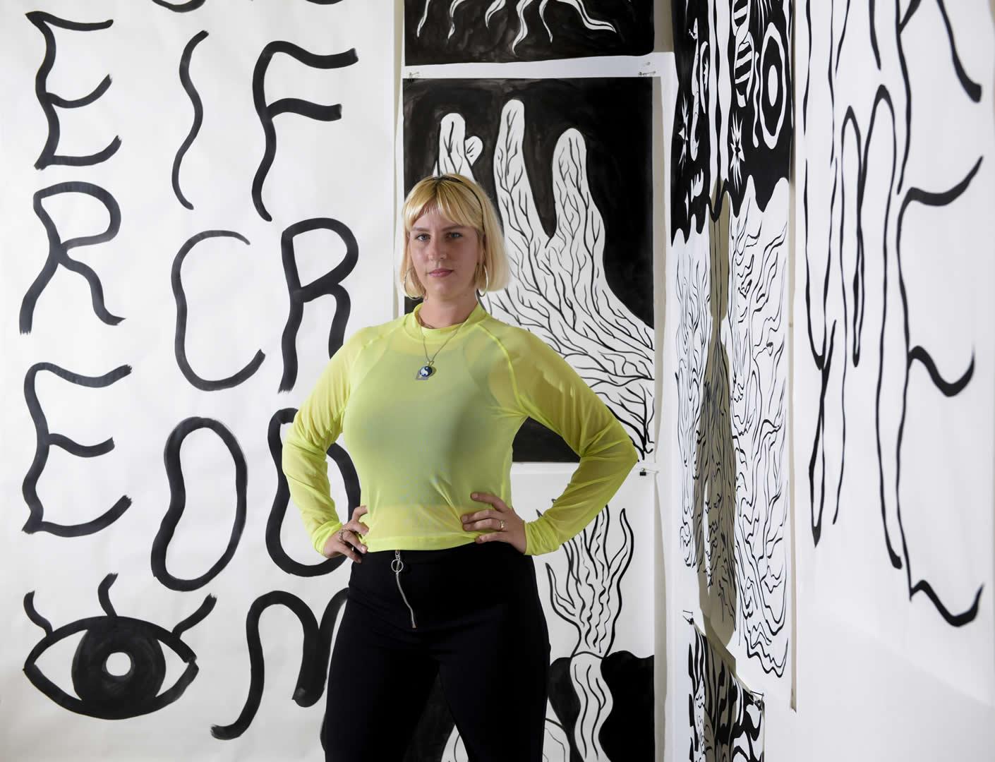 BA Kunstpreis 2020 | Leonie Mathis | Foto Ferdinand Neumüller | Galerie3