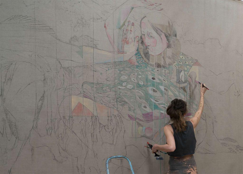 Maria Legat | VERHOFFT | Action | Galerie3