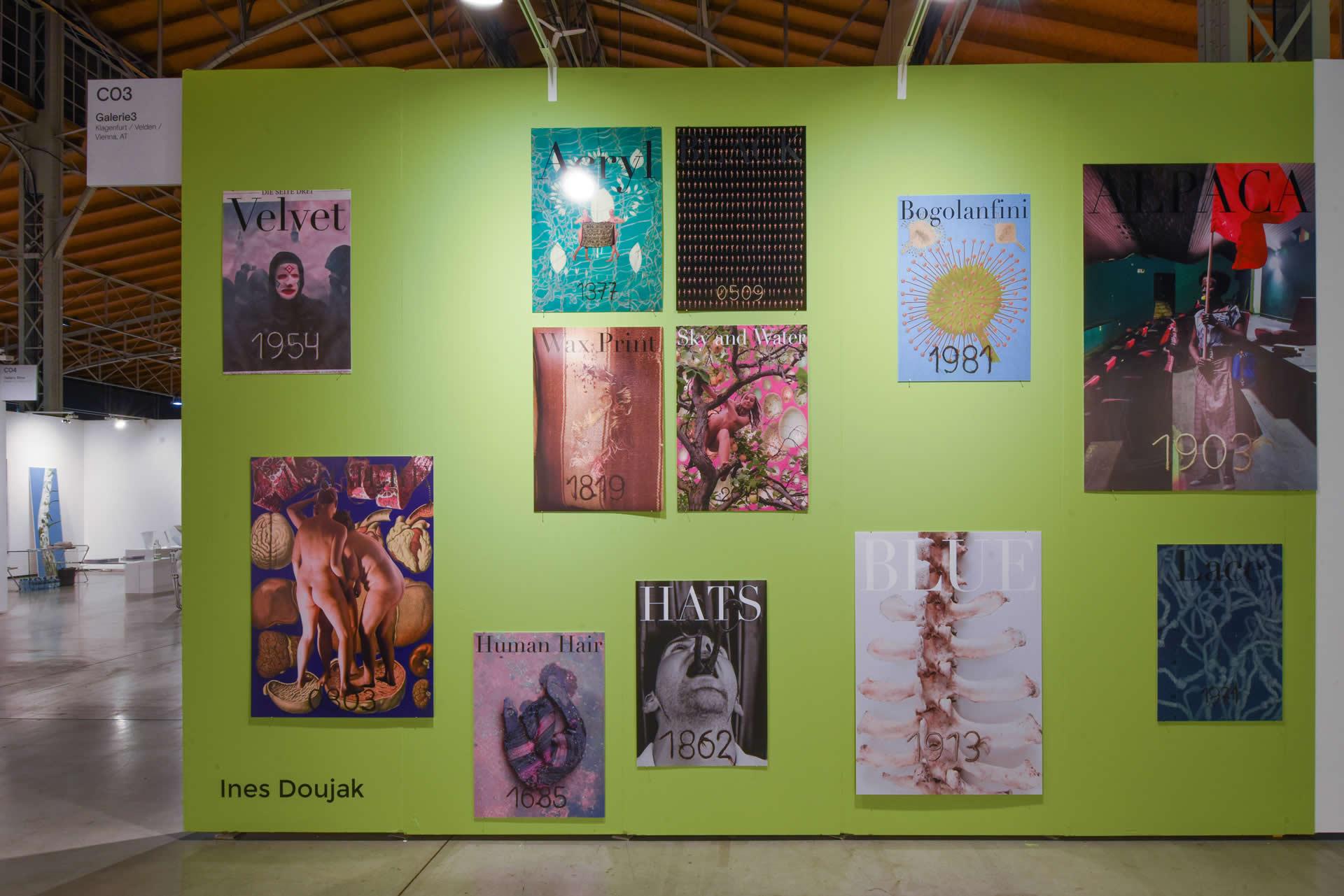 Ines Doujak | viennacontemporary 2020 | Foto: Joanna Pianka eSeL.at