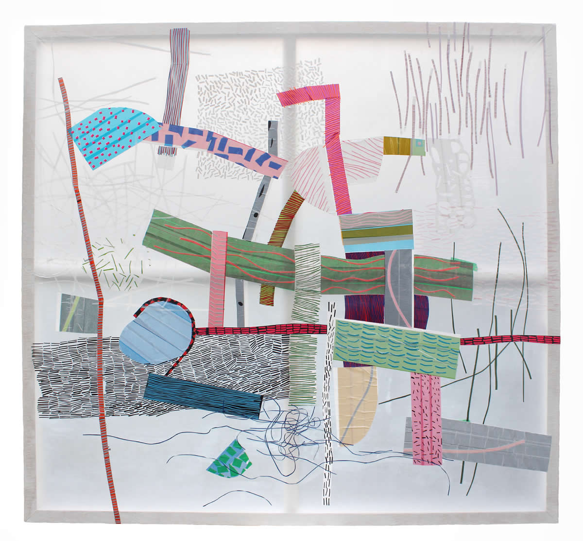 Anthia Loizou | Paper Rhapsodies | Early light symphony | Galerie3
