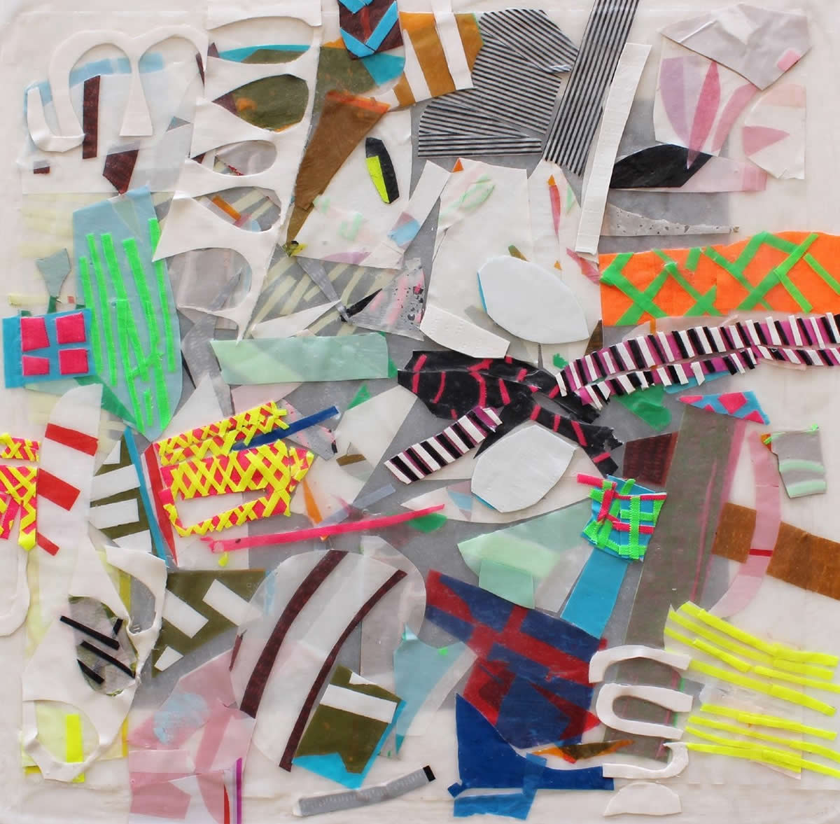 Anthia Loizou | Paper Rhapsodies | Abstract composition | Galerie3