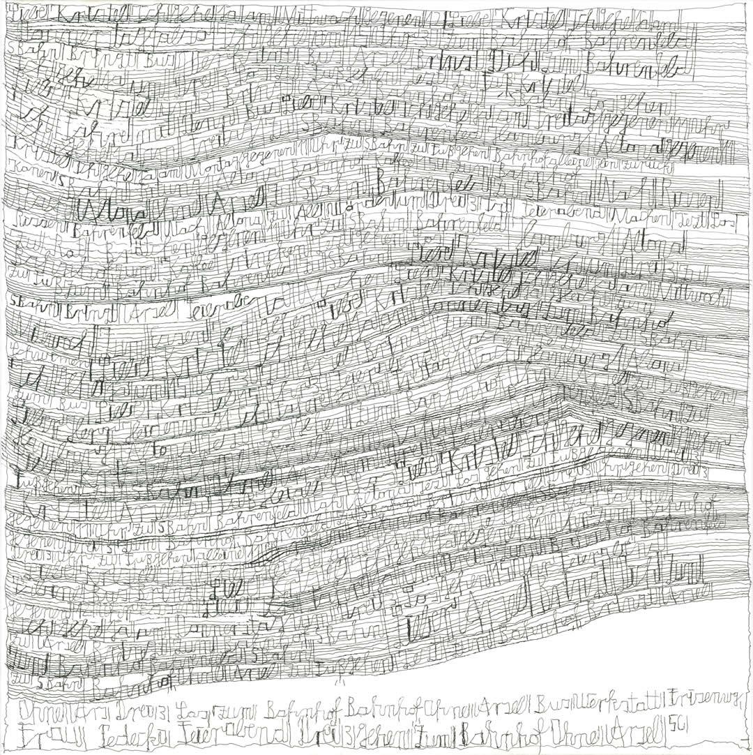 Harald Stoffers | Brief 205 | 2011 | 55x55cm | Courtesy Galerie3 Foto Galerie der Villa