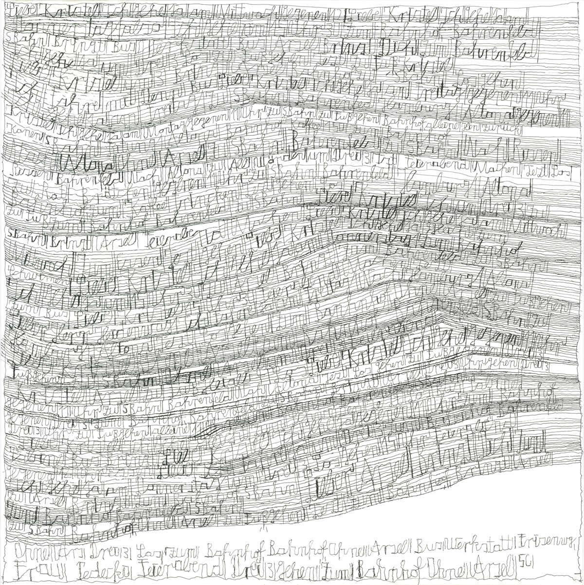 Harald Stoffers | Brief205 2011 | 55x55cm | viennacontemporary | Galerie3