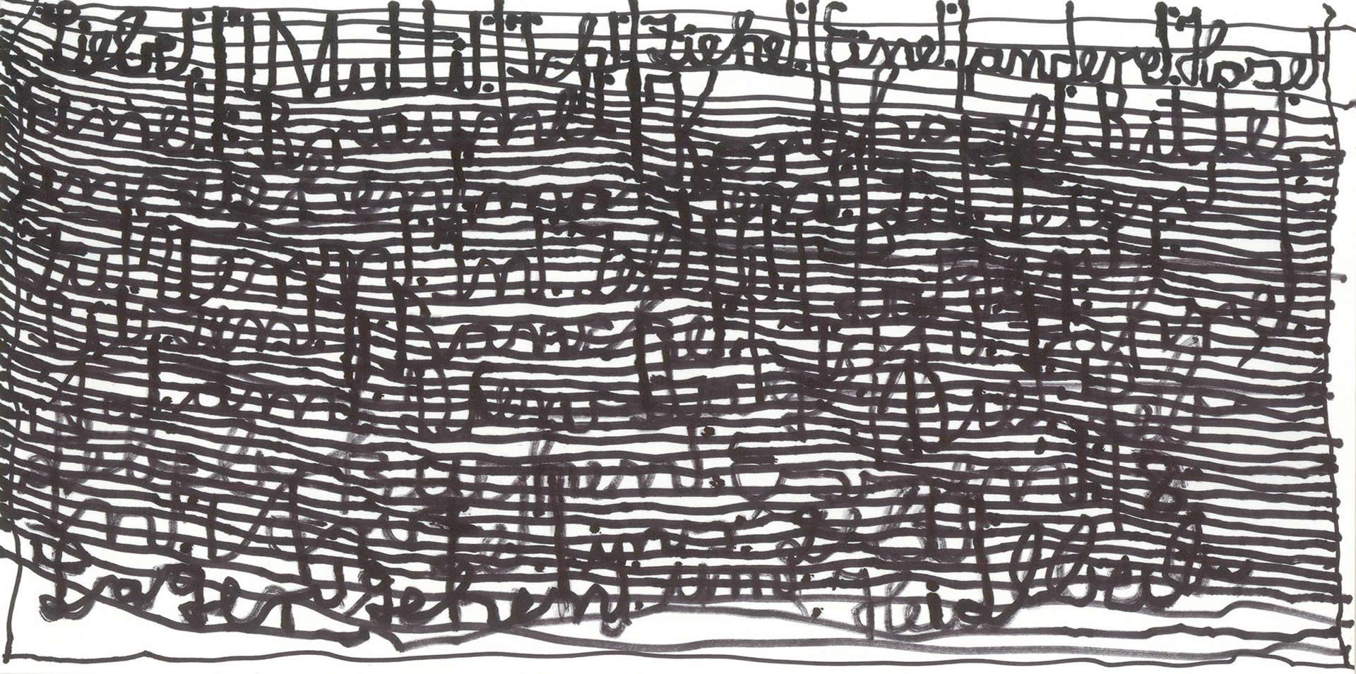 Harald Stoffers | Brief277 2013 | 15x29,5cm | viennacontemporary | Galerie3