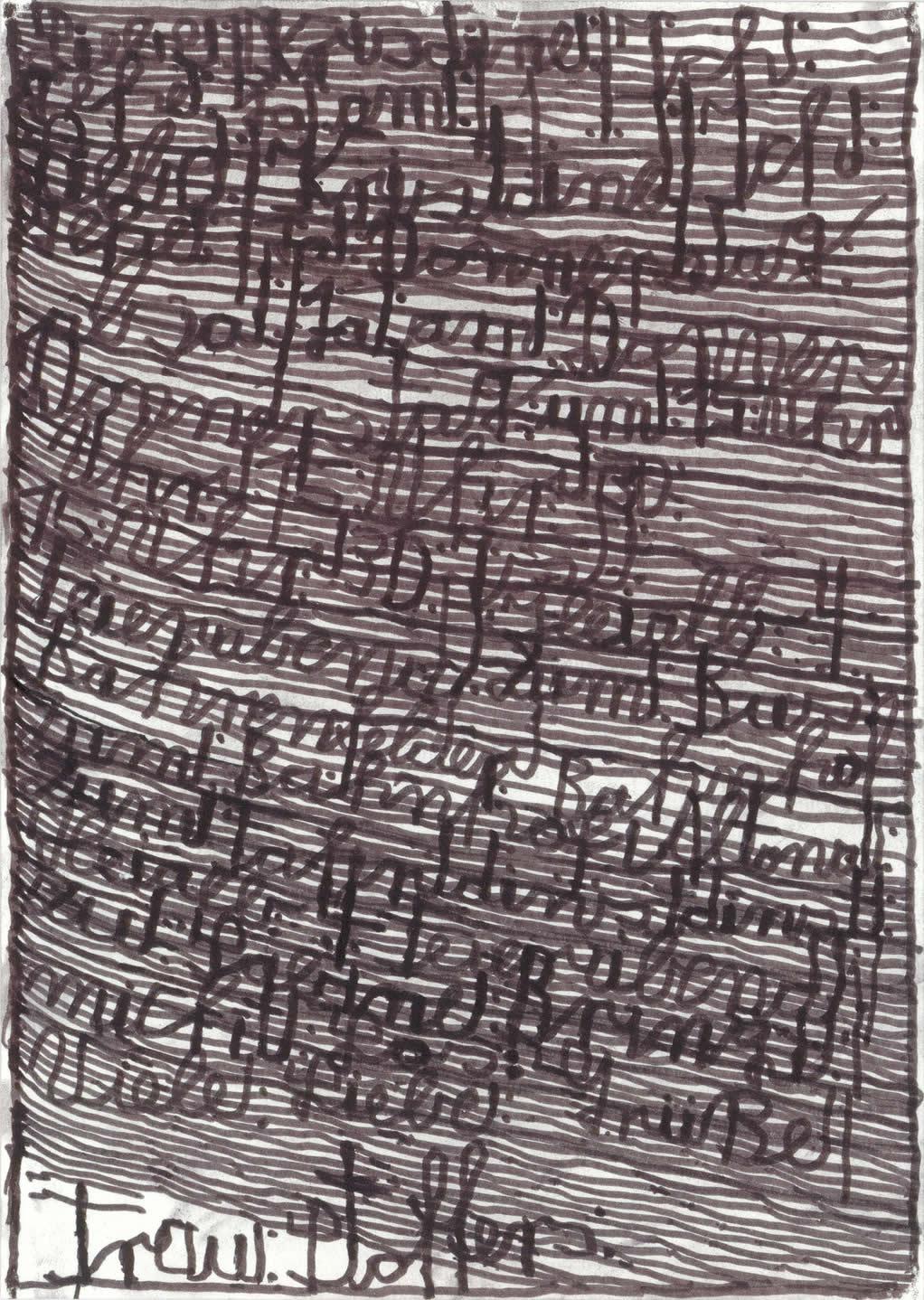 Harald Stoffers | Brief281 2014 | 29,5x21cm | viennacontemporary | Galerie3
