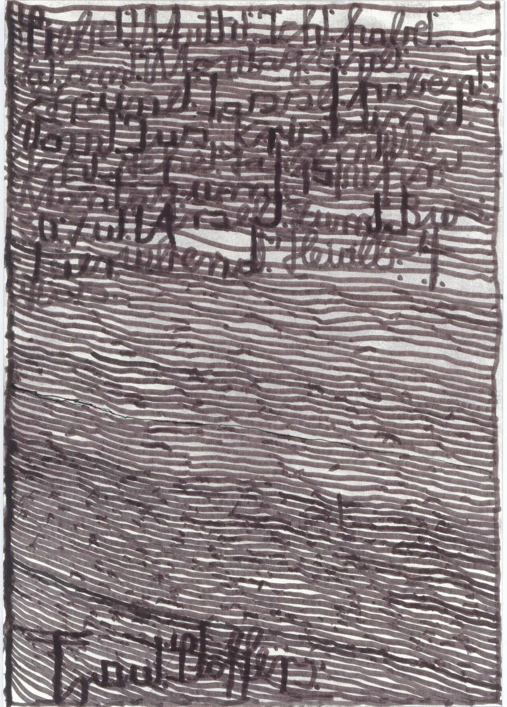 Harald Stoffers | Brief300 2014 | 29,5x21cm | viennacontemporary | Galerie3