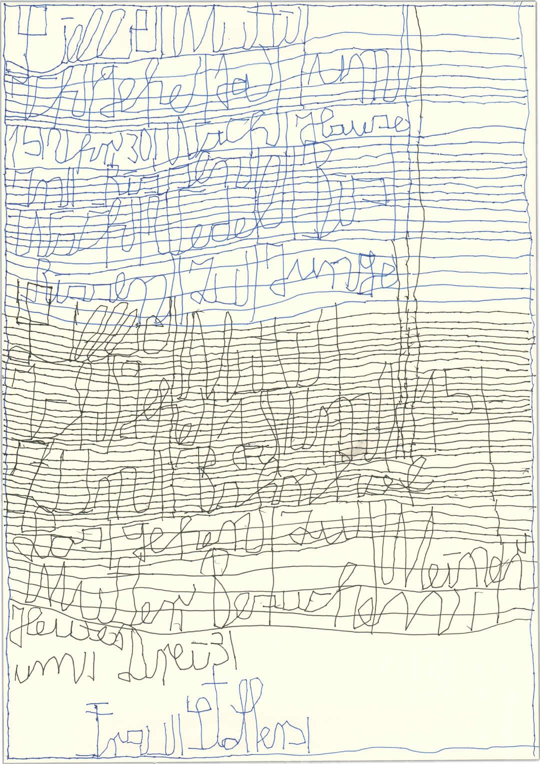 Harald Stoffers | Brief335 2014 | 20x20cm | viennacontemporary | Galerie3