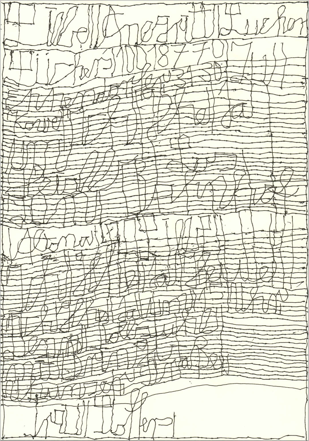 Harald Stoffers | Brief385 2017 | 29,7x21cm | viennacontemporary | Galerie3