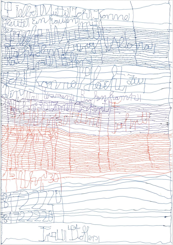 Harald Stoffers | Brief392 2017 | 41,9x29,5cm | viennacontemporary | Galerie3