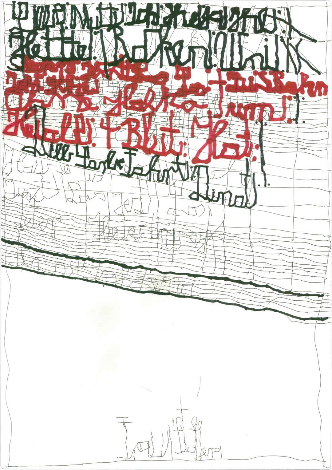 Harald Stoffers | Brief405 2018 | 59x42cm | viennacontemporary | Galerie3