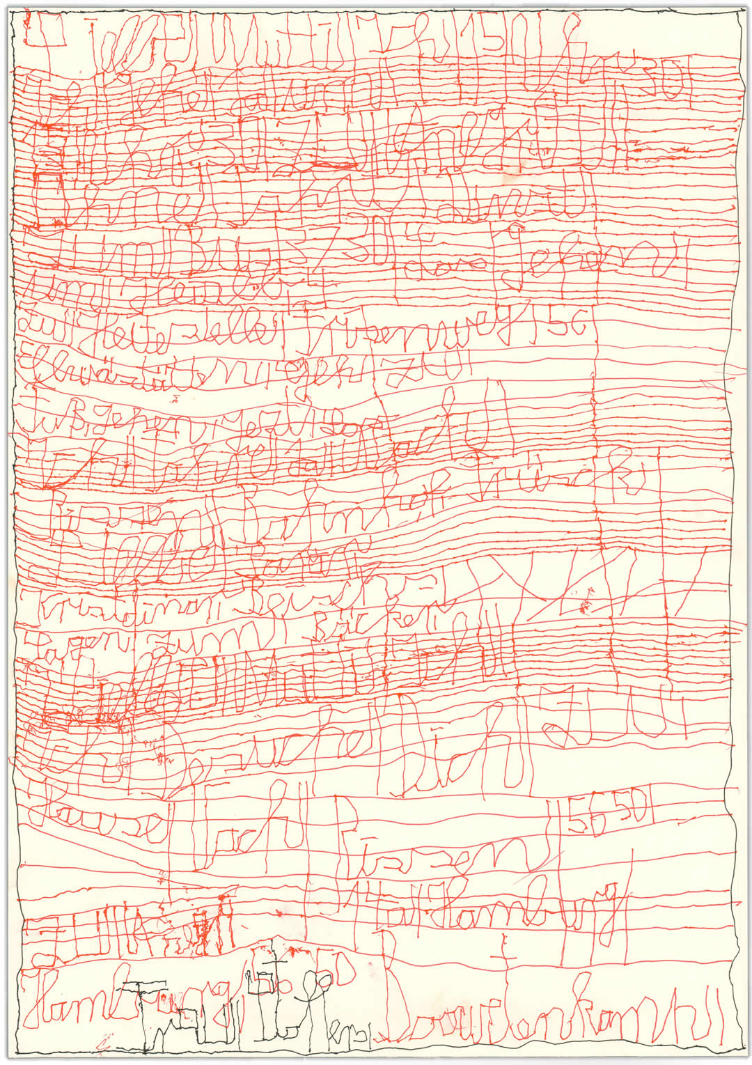 Harald Stoffers | Brief429 2019 | 42x29,6cm | viennacontemporary | Galerie3