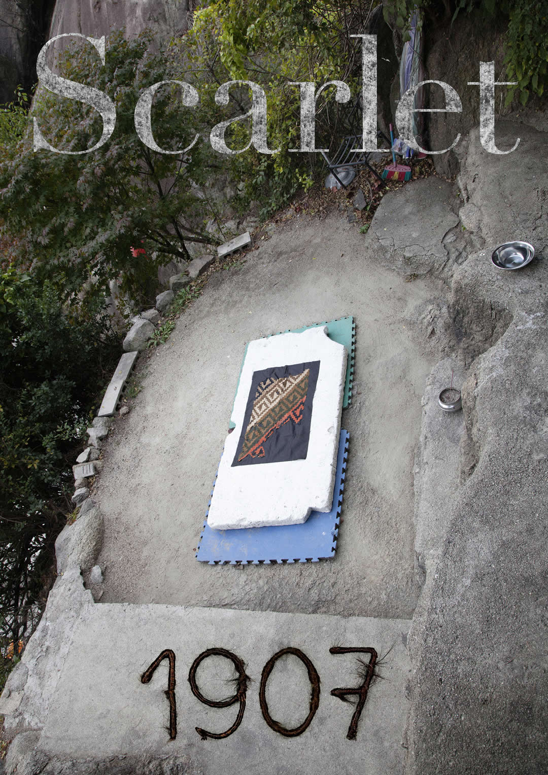 Ines Doujak | Loomshuttles, Warpaths | WK Kartei 1907 Scarlet | A4 | viennacontemporary | Galerie3