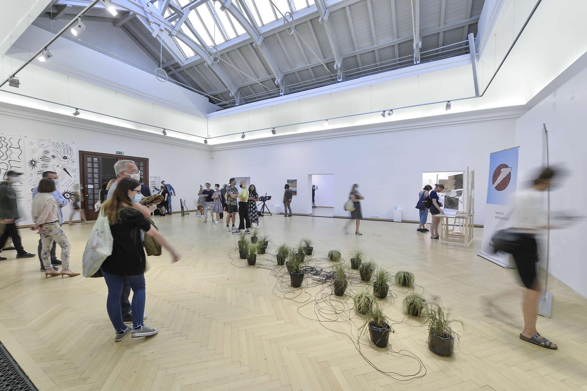 BA Kunstpreis 2020 | Raumansicht | Foto: Helge Bauer