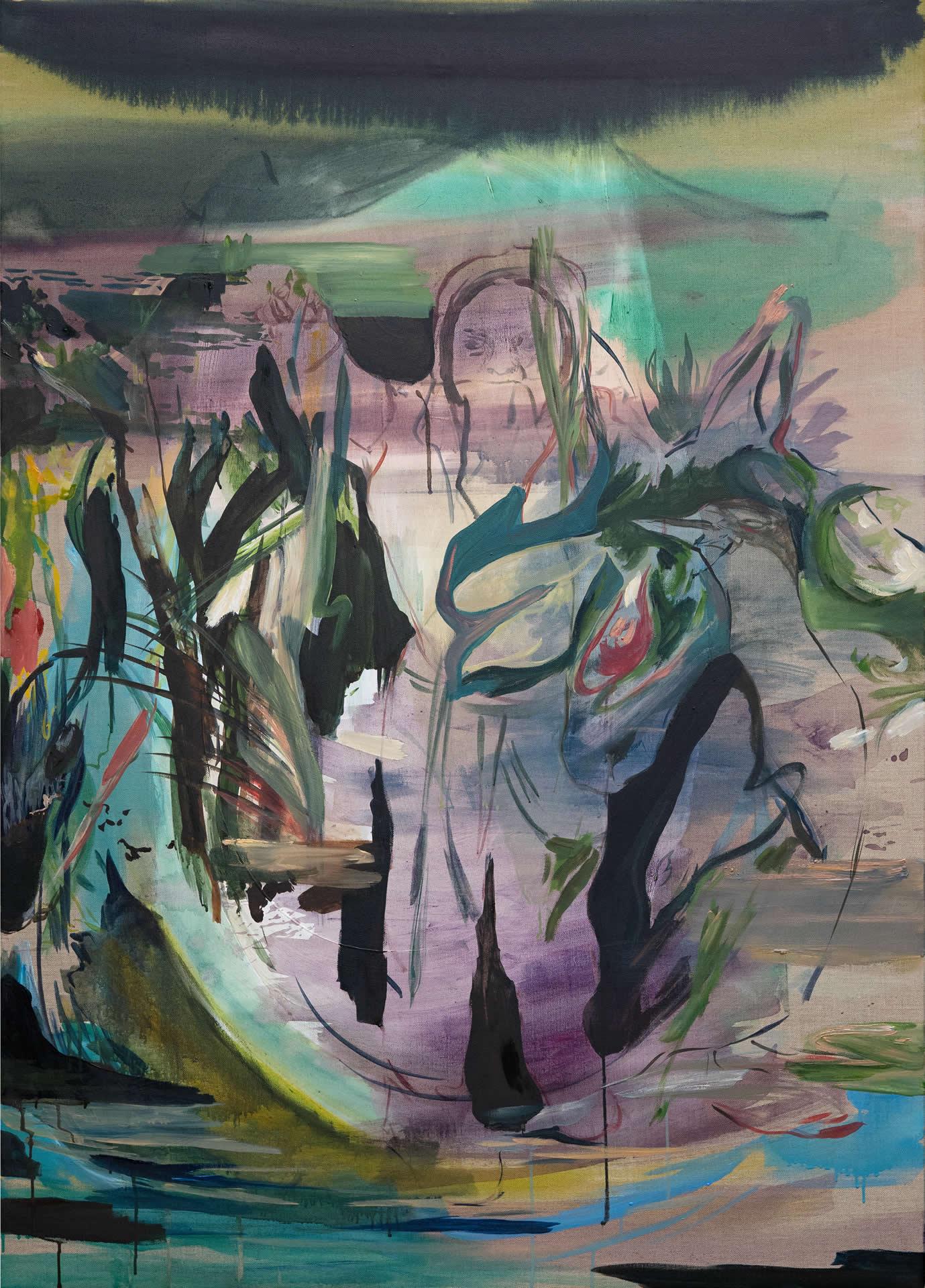 Elisabeth Wedenig | there is water between us | 140 x 100 cm | Foto Peter Schaflechner