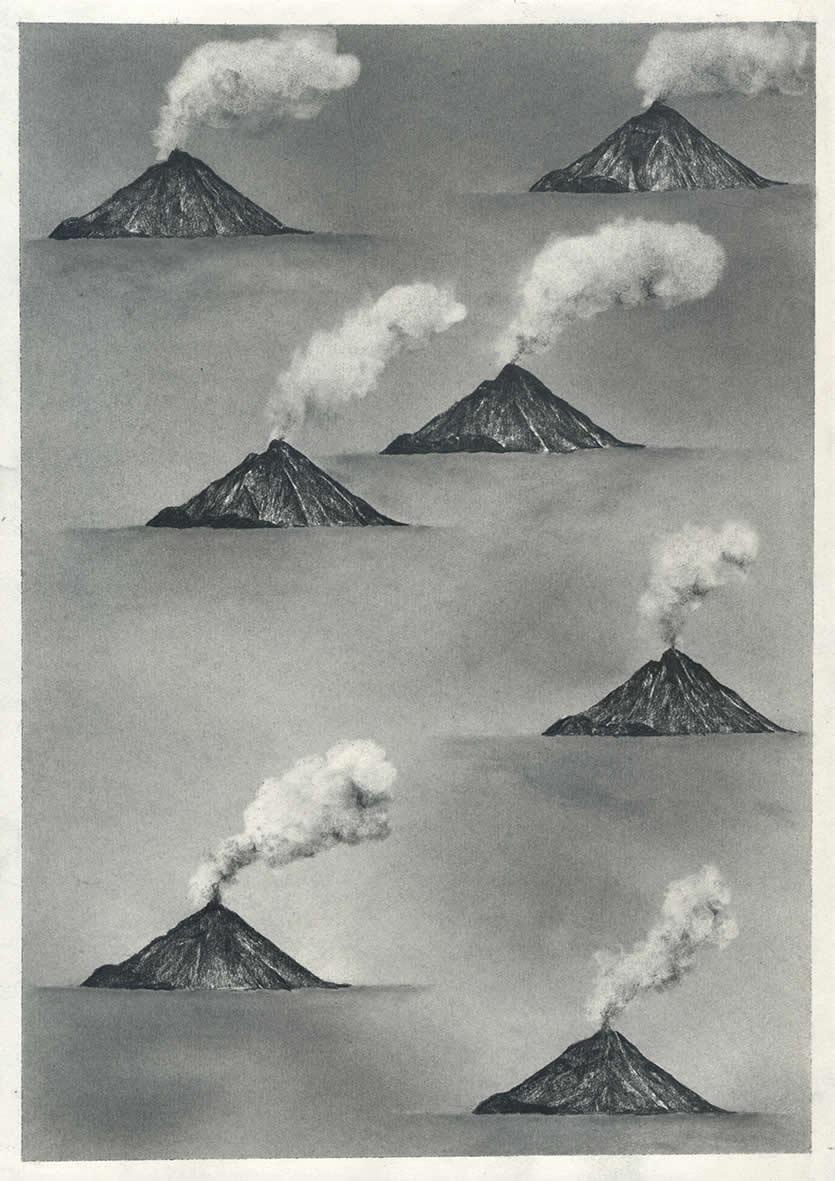 Payer Gabriel | Vulkane | A4