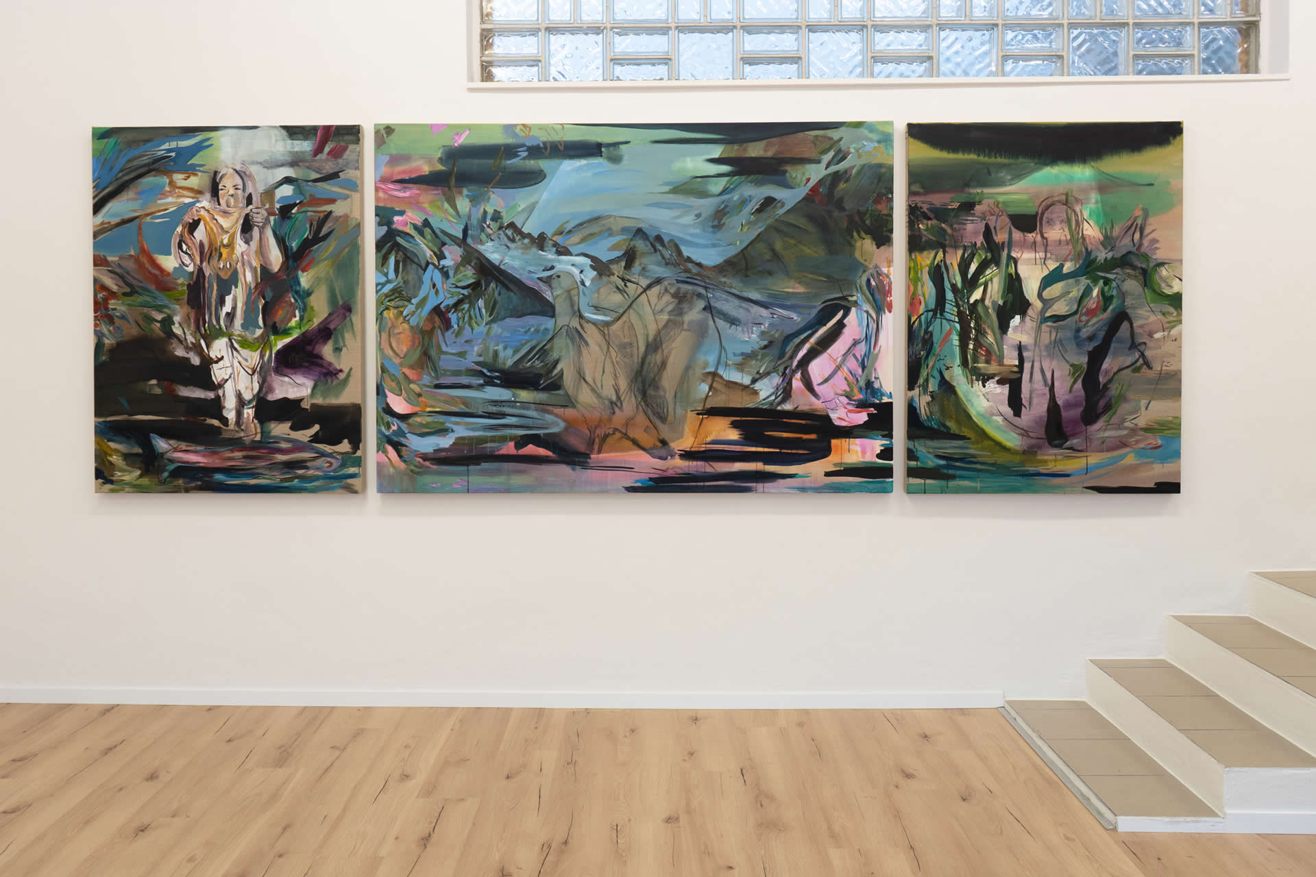 Elisabeth Wedenig | Being An No Island | Ausstellungsansicht