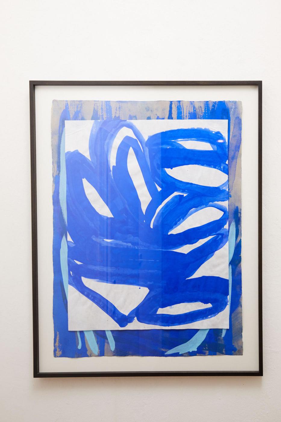 Veronika Dirnhofer | Acryl Collage auf Papier | 90 x 70 cm | Galerie3 | Foto Johannes Puch