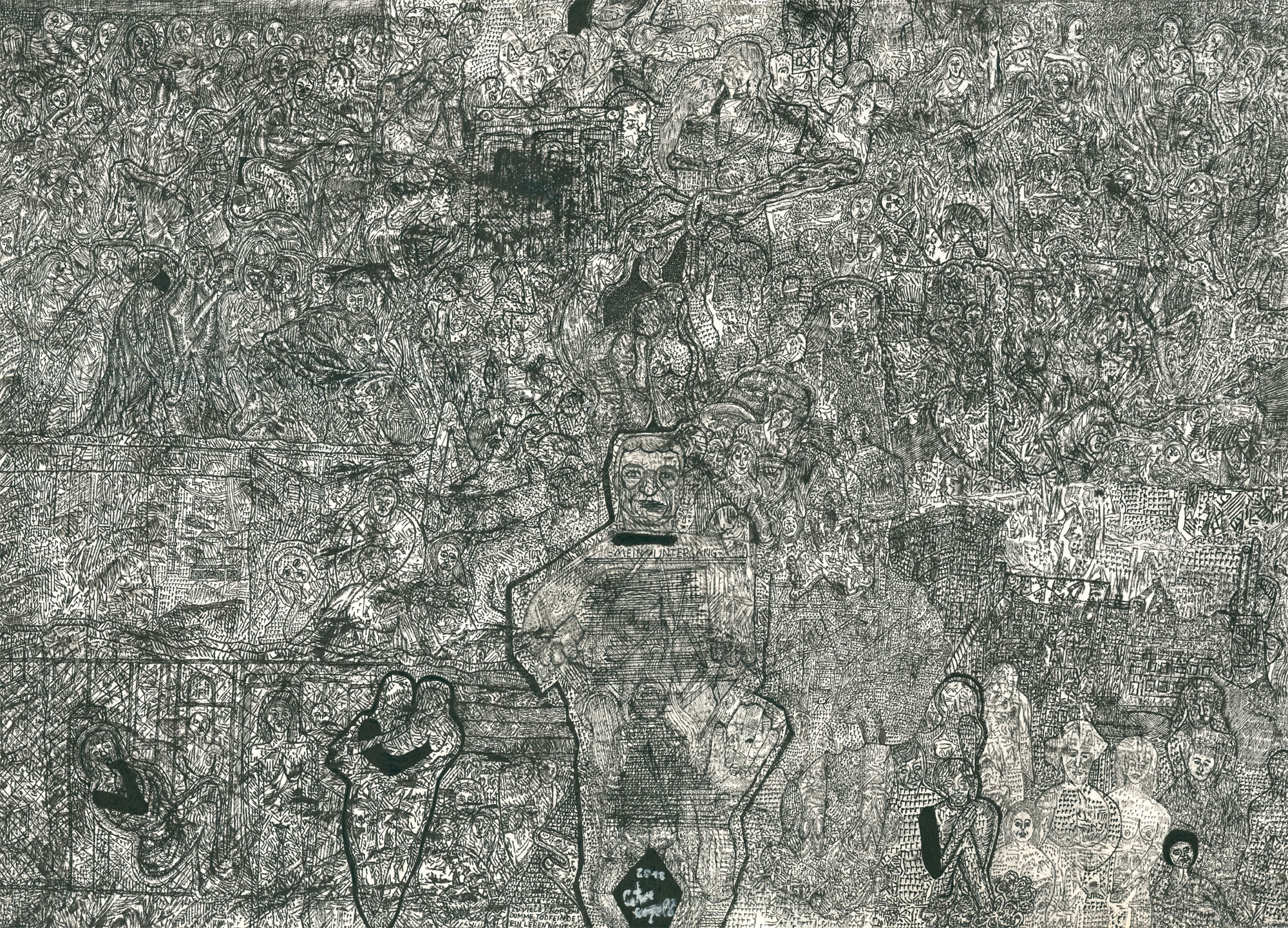 Peter Kapeller | 2018 | unheimlich heimelig | Galerie3