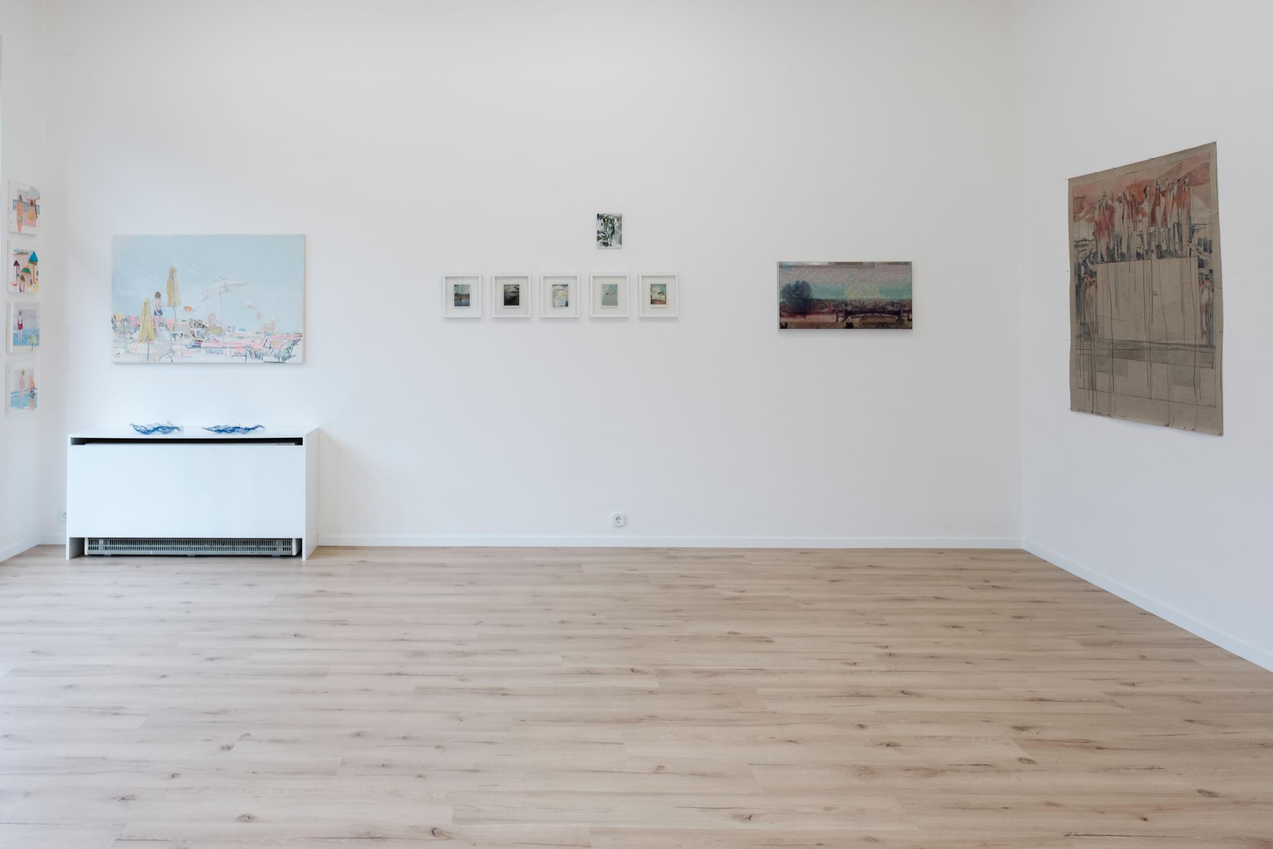 3. Törn | Anthia Loizou | Elisabeth Wedenig | Manuel Obrijetan | Maria Legat | Foto Manu Lasnik | 2019 | Galerie3