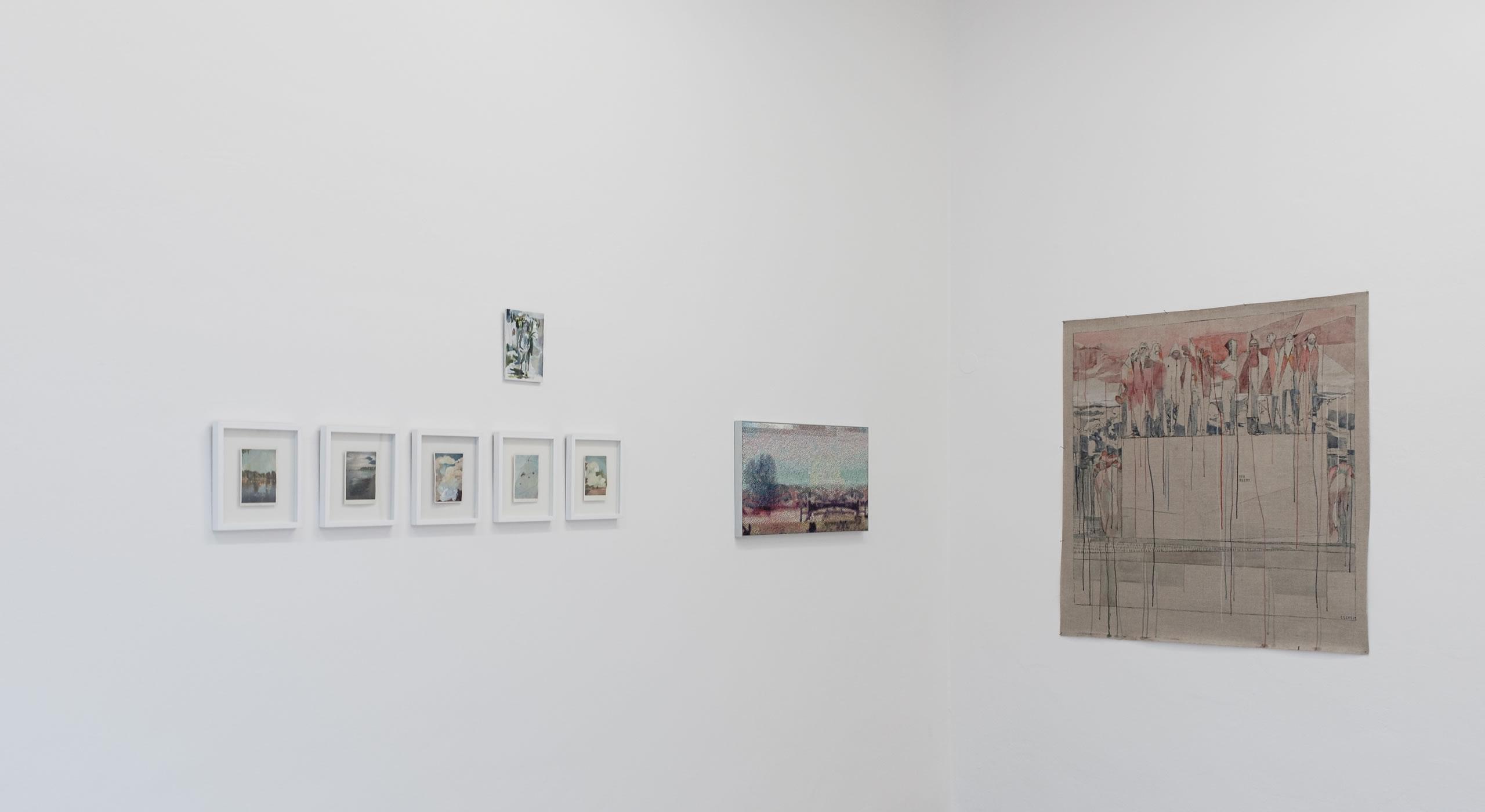 3. Törn | Elisabeth Wedenig | Manuel Obrijetan | Maria Legat | Foto Manu Lasnik | 2019 | Galerie3