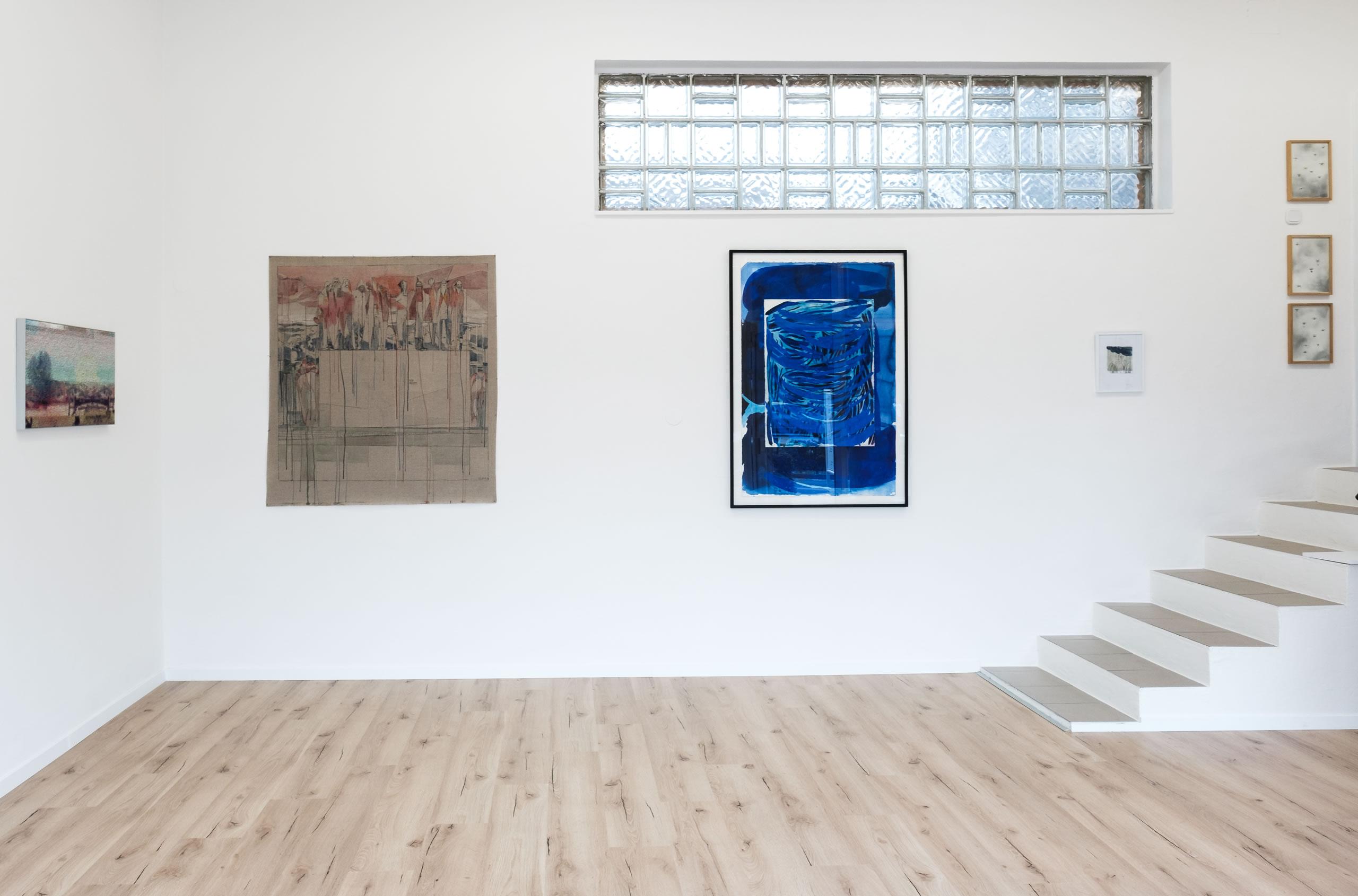 3. Törn | Manuel Obrijetan | Maria Legat | Veronika Dirnhofer | Payer-Gabriel | Foto Manu Lasnik | 2019 | Galerie3