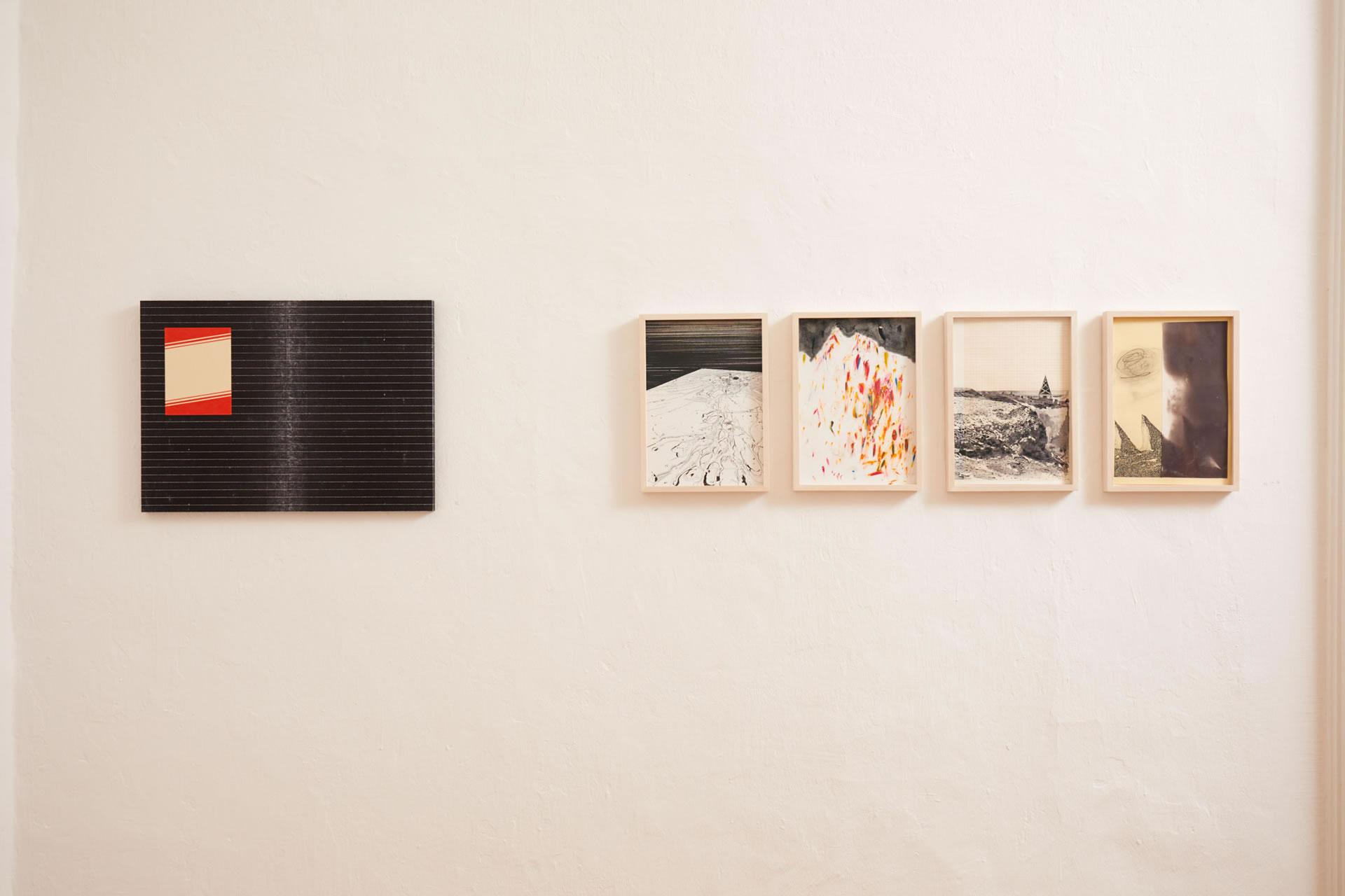 Mathias Pöschl | Andreas Werner | Kabinett | Galerie3 | Foto Johannes Puch