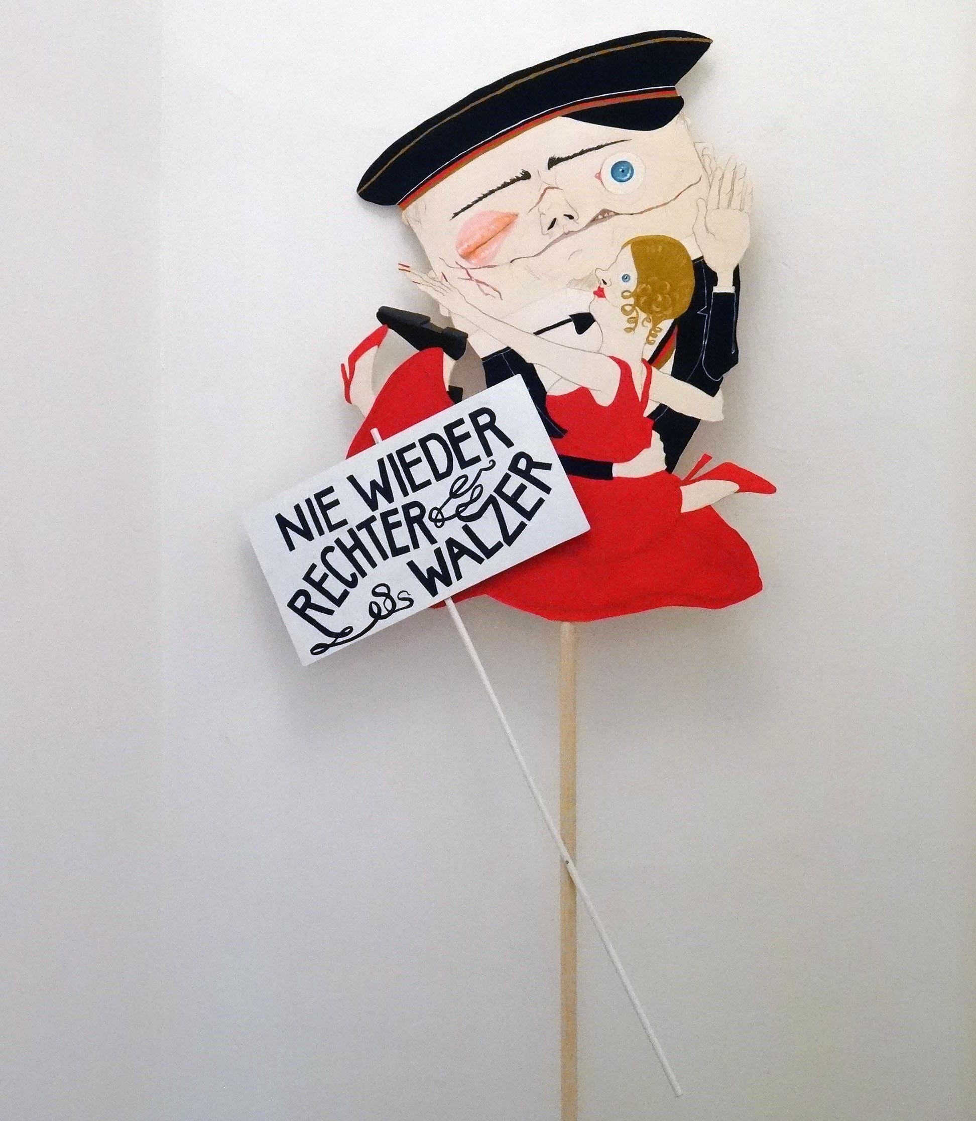 Annemarie Arzberger   Nie Wieder Rechter Walzer   2015   Galerie3